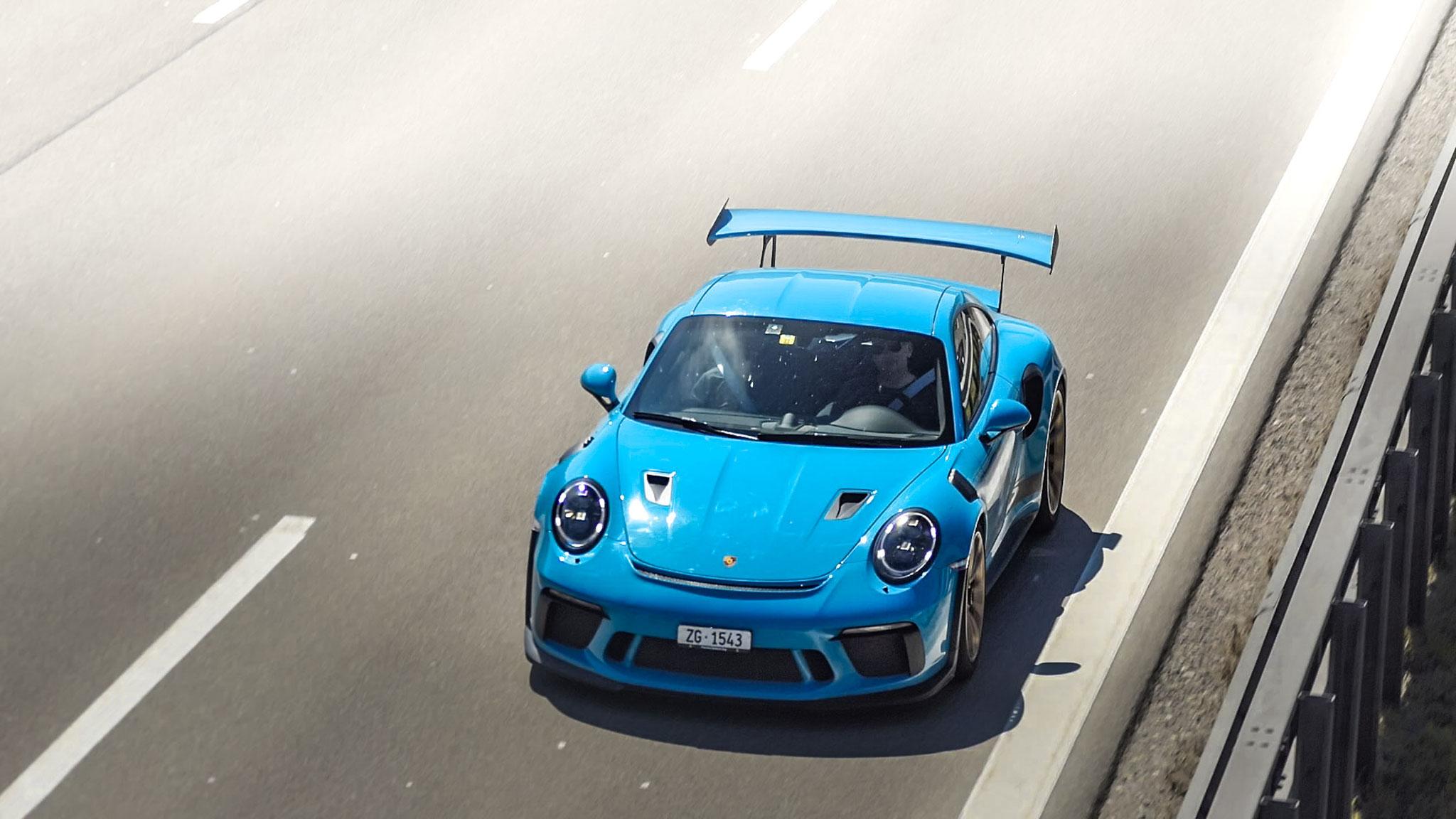 Porsche 911 991.2 GT3 RS - ZG-1543 (CH)