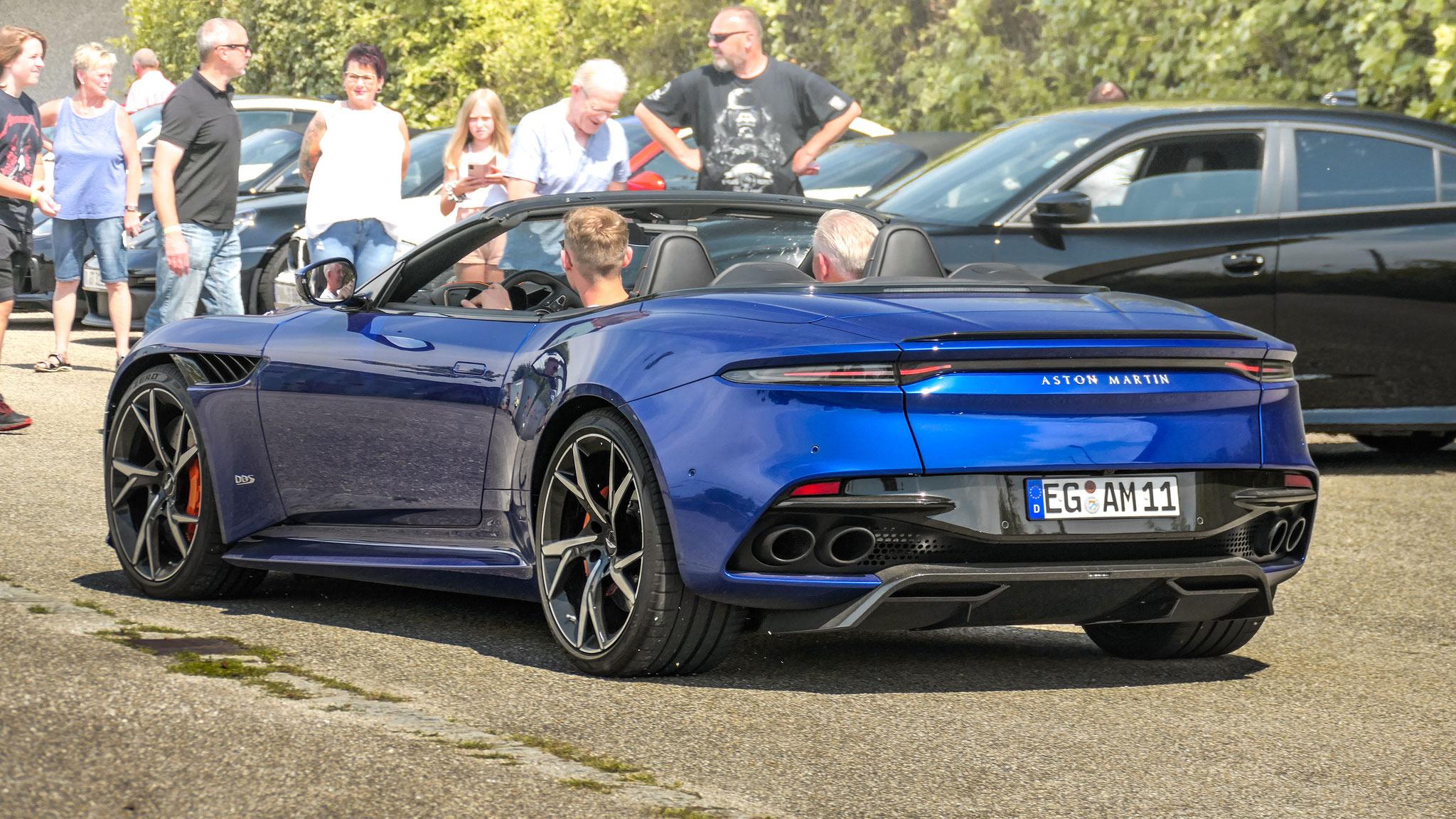 Aston Martin DBS Superleggera Volante - EG-AM-11