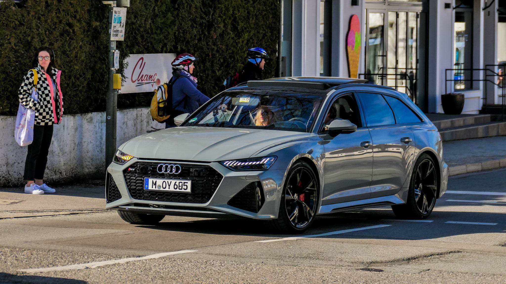 Audi RS6 - M-OY-605