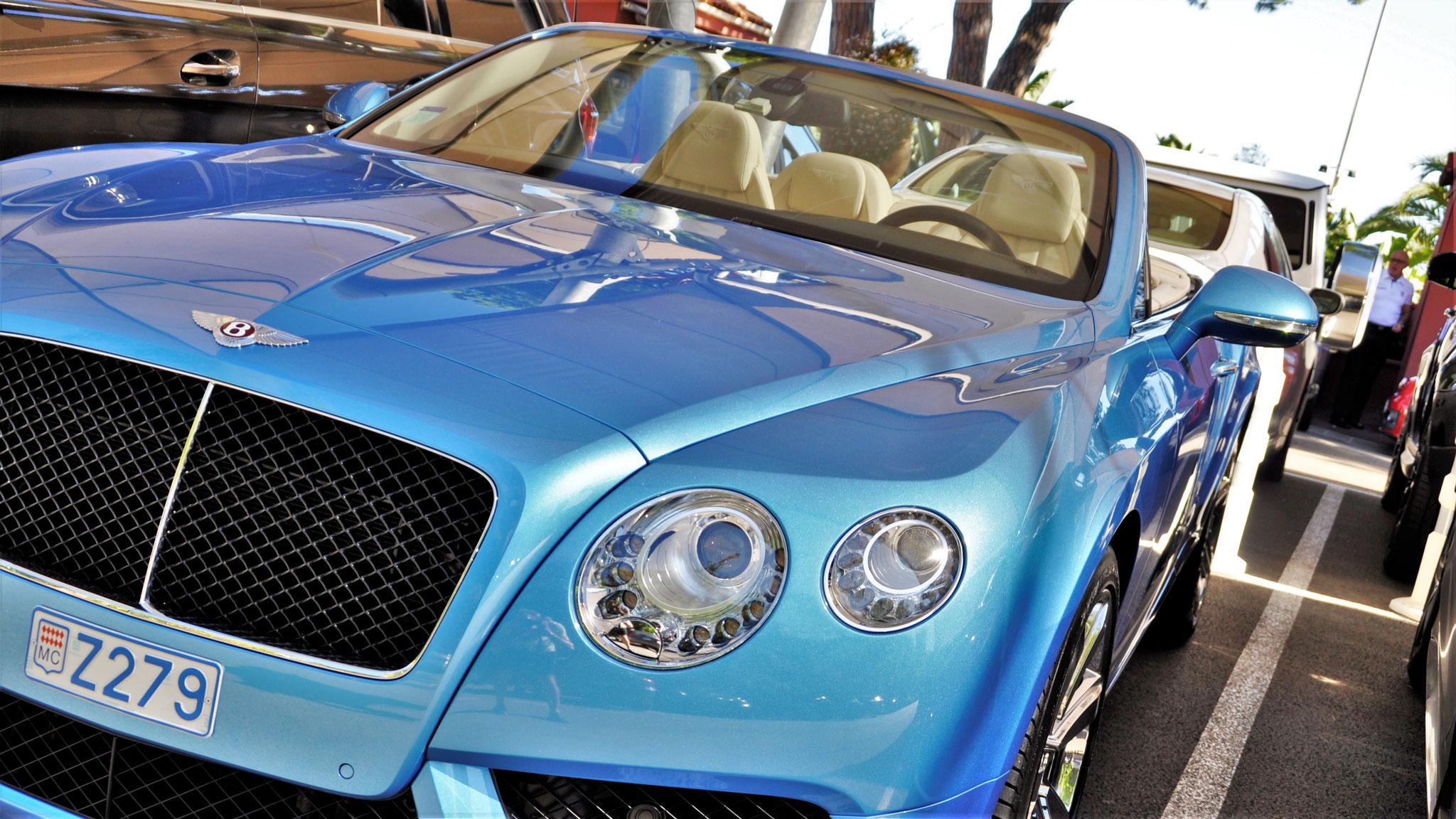 Bentley Continental GTC V8 S - Z279 (MC)