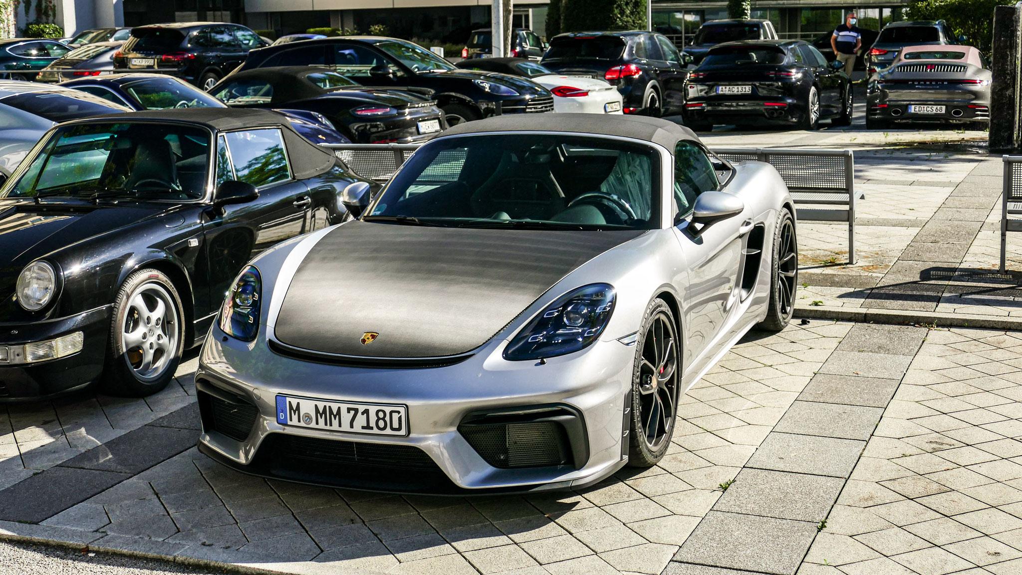 Porsche 718 Spyder - M-MM-7180