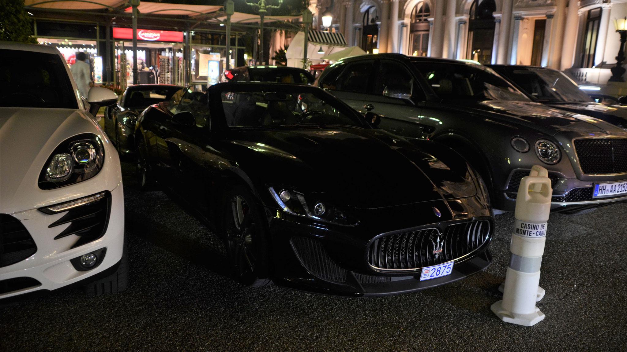 Maserati Grancabrio MC - 2875 (MC)