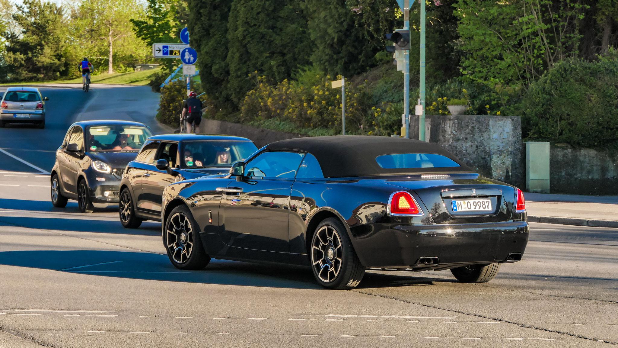 Rolls Royce Dawn - M-O-9987
