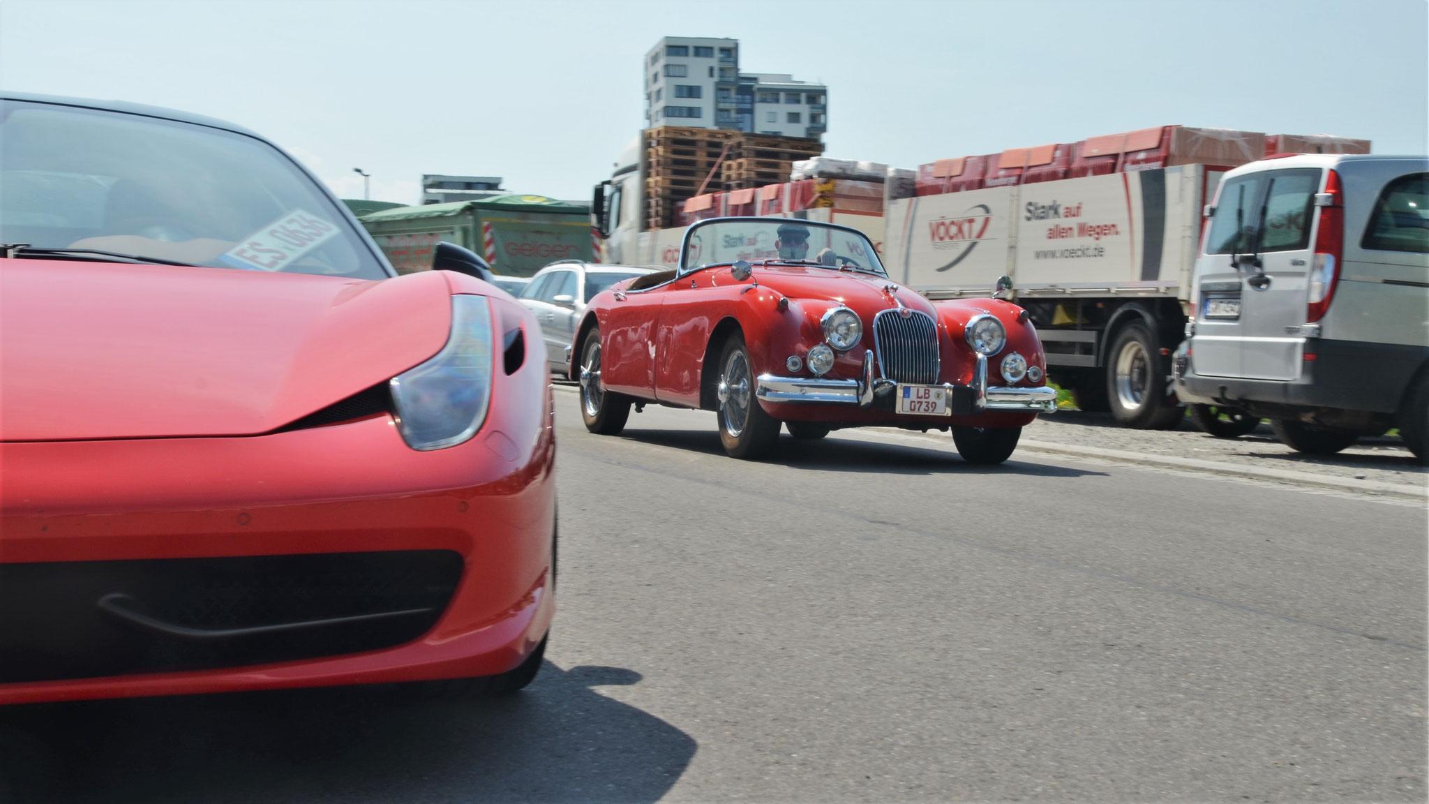 Jaguar XK 150 Cabrio - LB-0739
