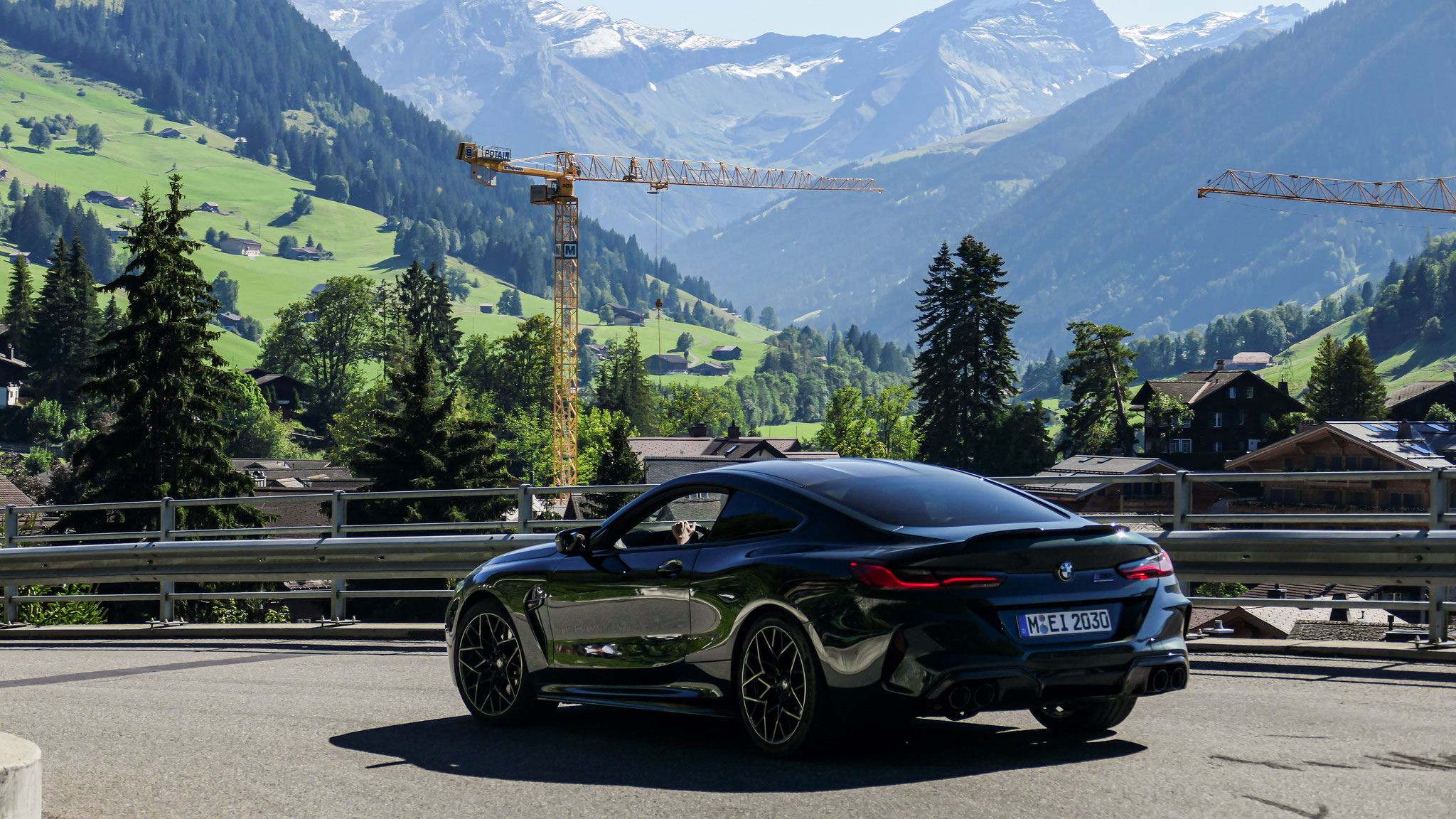 BMW M8 Competition - M-EI-2030