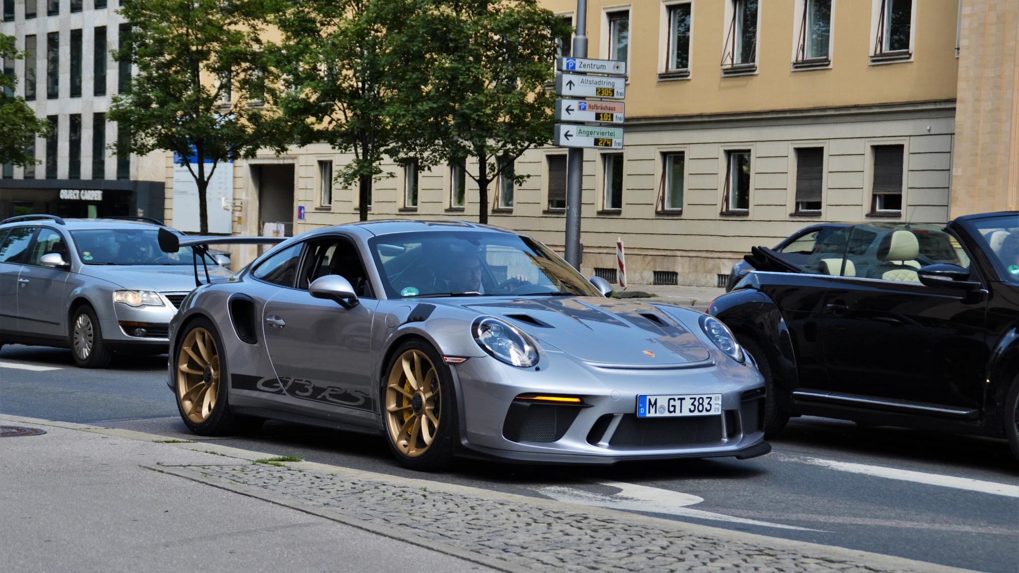 Porsche 911 991.2 GT3 RS - M-GT-383