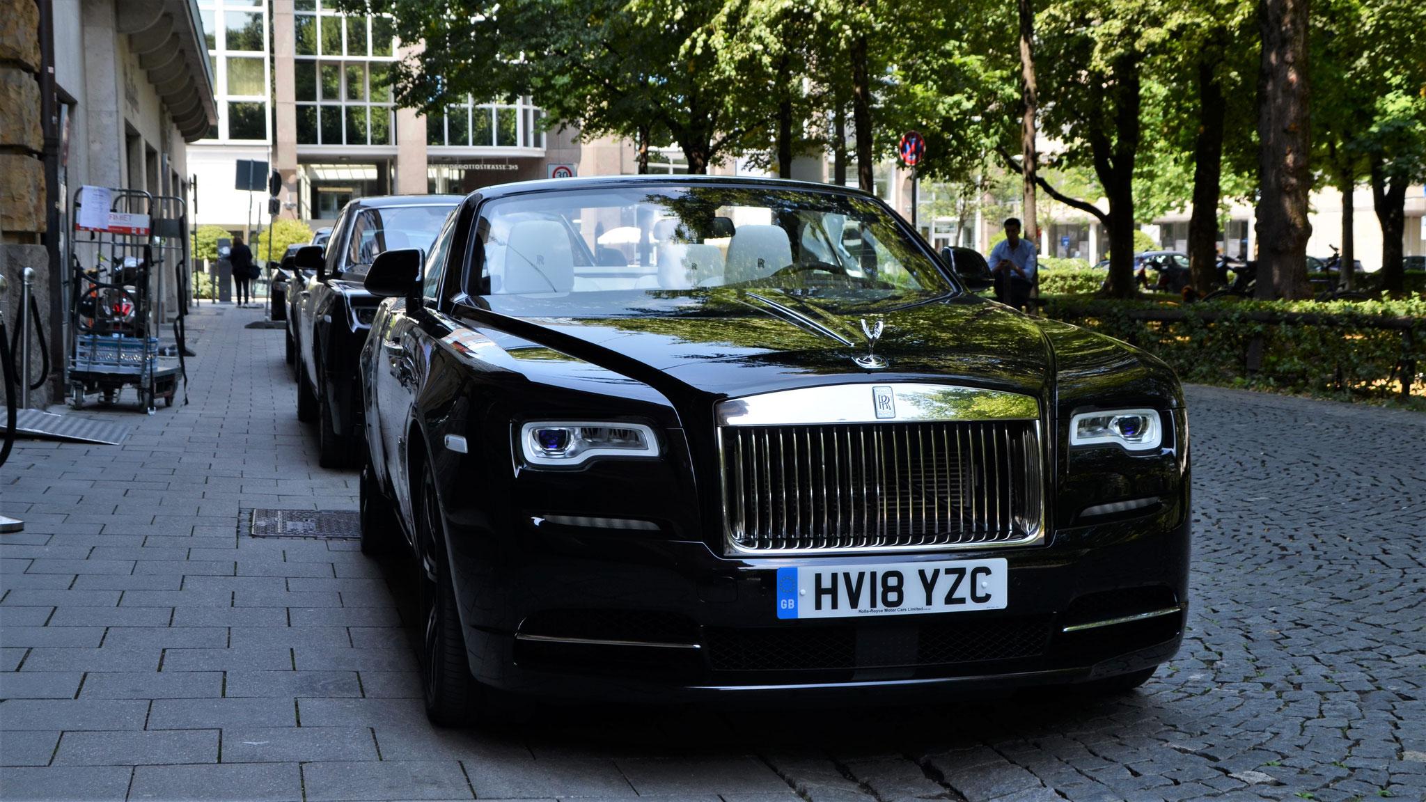Rolls Royce Dawn - HV18-YZC (GB)
