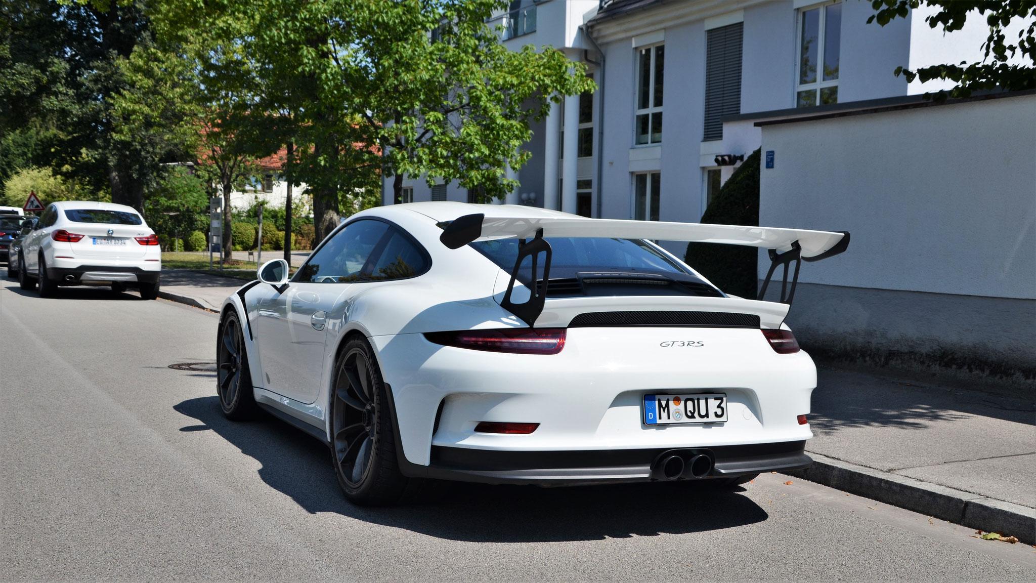 Porsche 911 GT3 RS - M-QU-3
