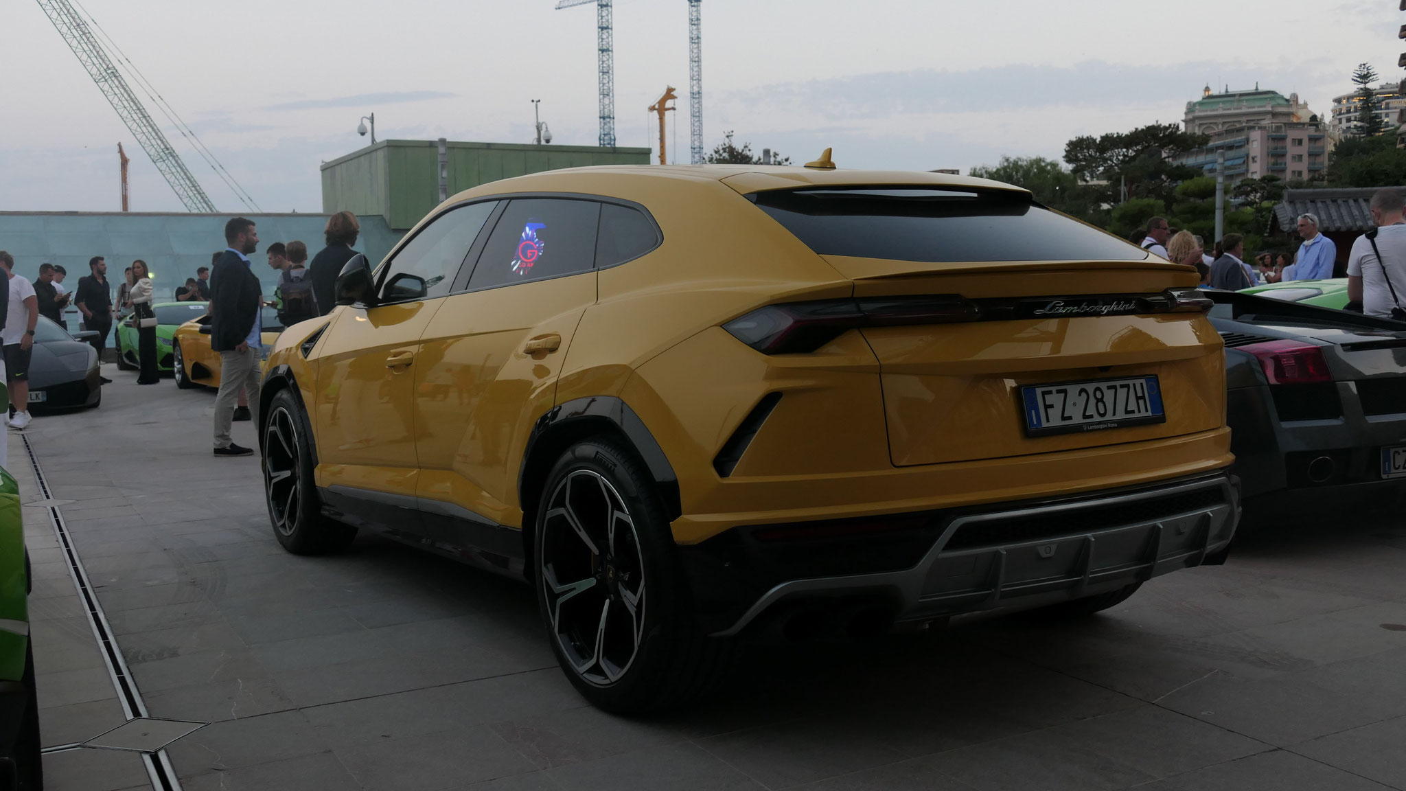Lamborghini Urus - FZ-287-ZH (ITA)