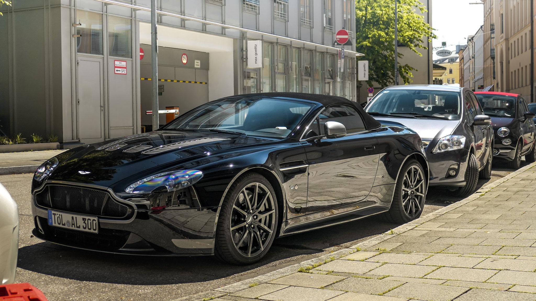 Aston Martin Vantage S V12 Volante - TÖL-AL-300