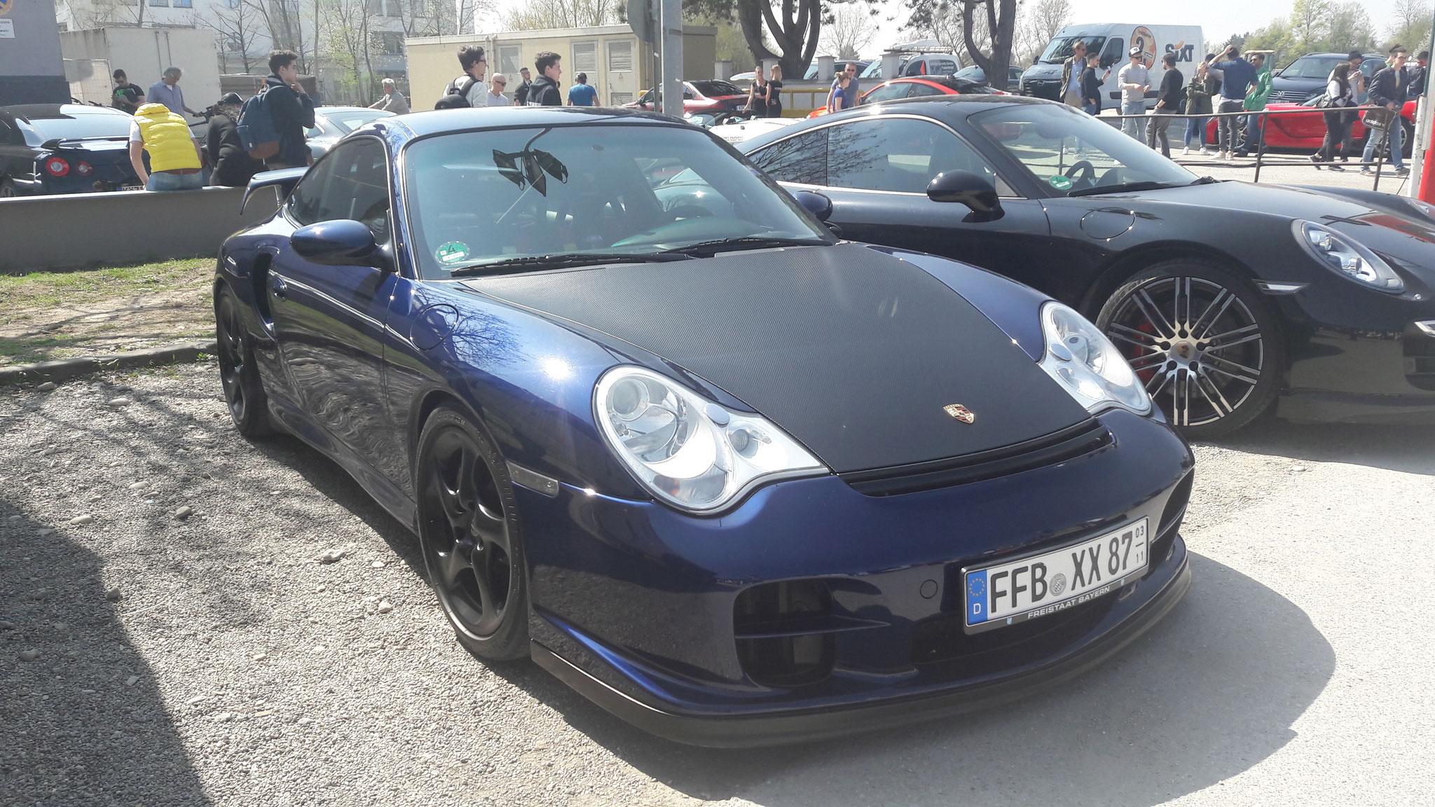 Porsche 911 996 GT2 RS - FFB-XX-87