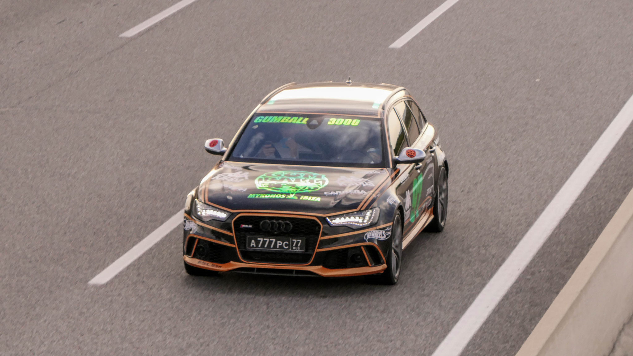 Audi RS6 - A-77-PC-77 (RUS)