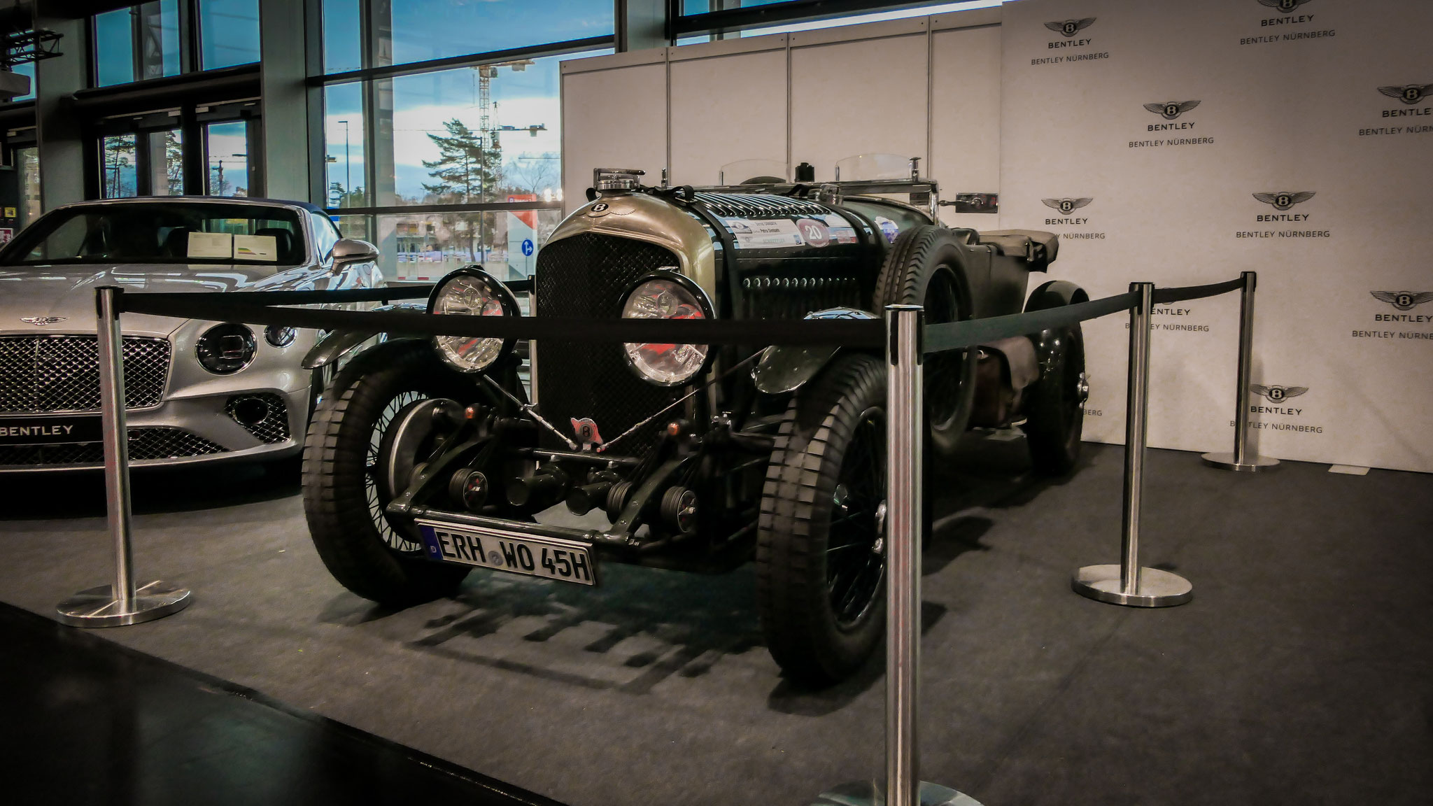 Bentley 4 1/2 Litre Blower - ERH-WO-45H