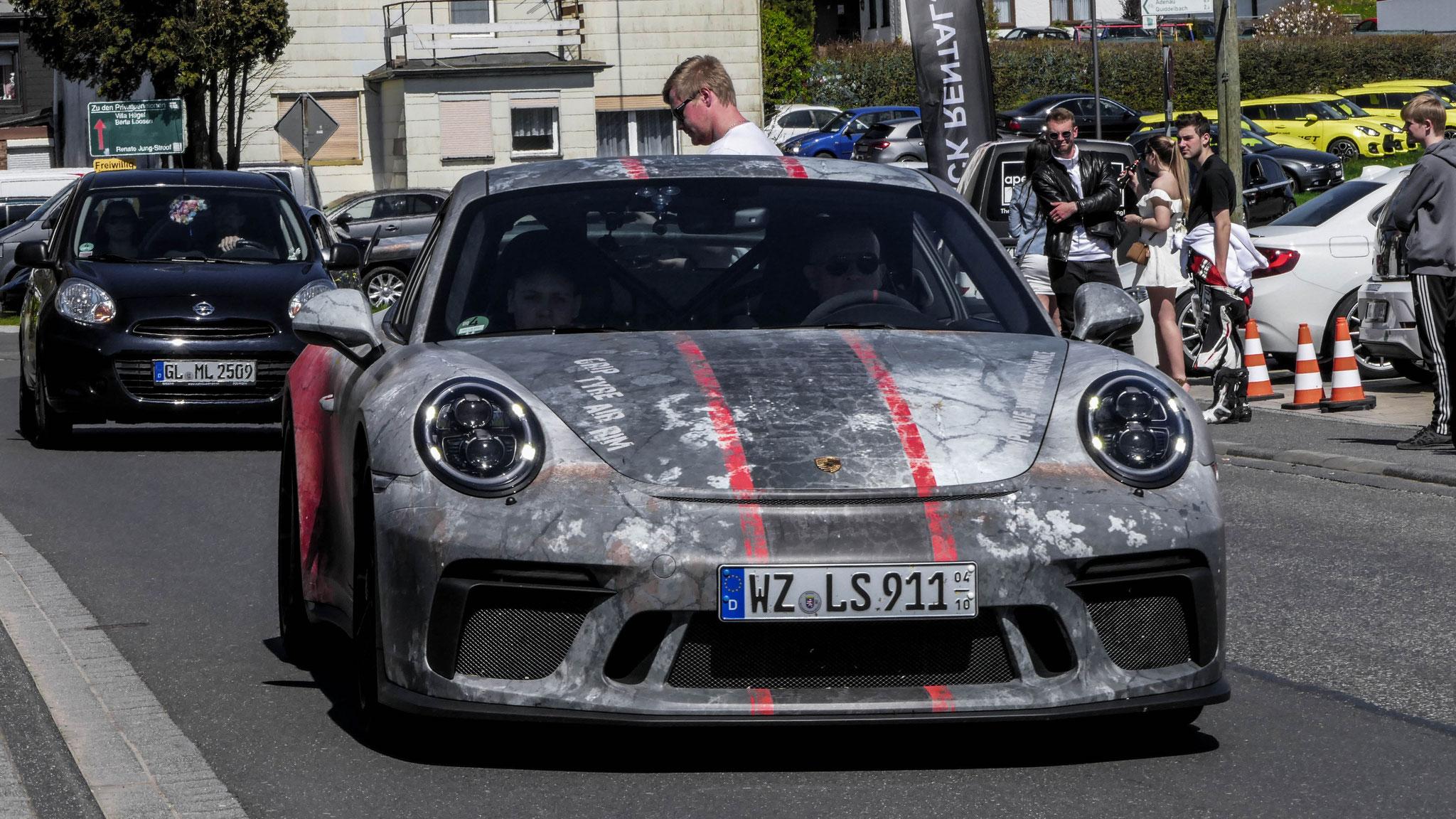 Porsche 991 GT3 - WZ-LS-911