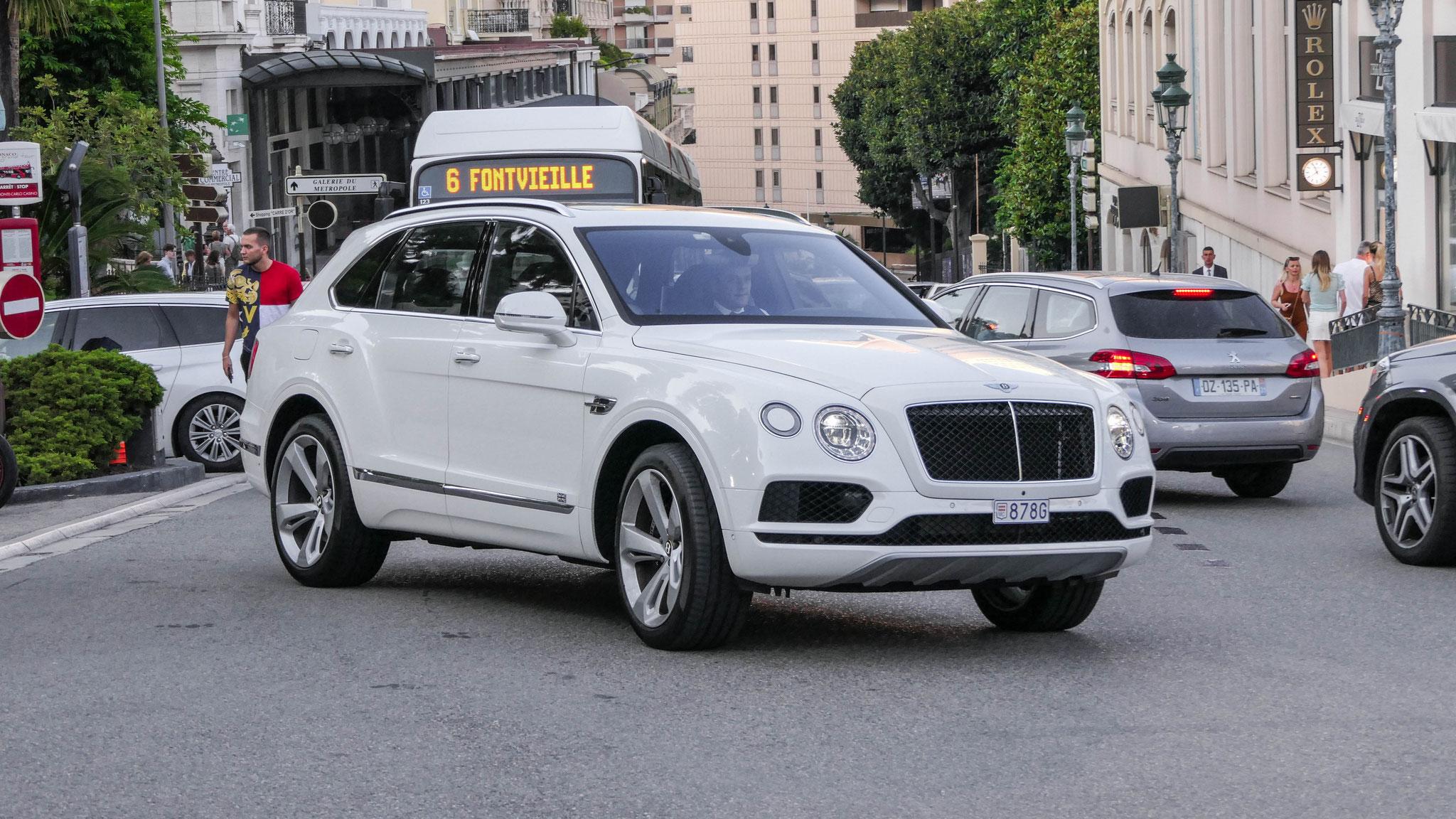 Bentley Bentayga - 878G (MC)