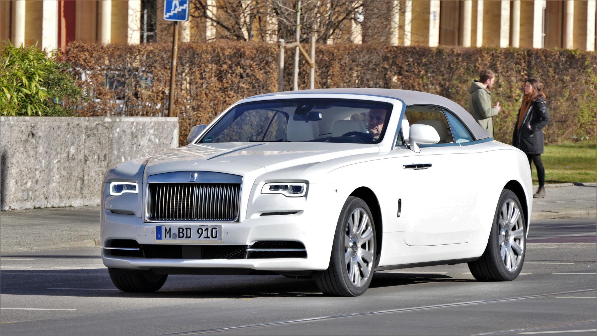 Rolls Royce Dawn - M-BD-910