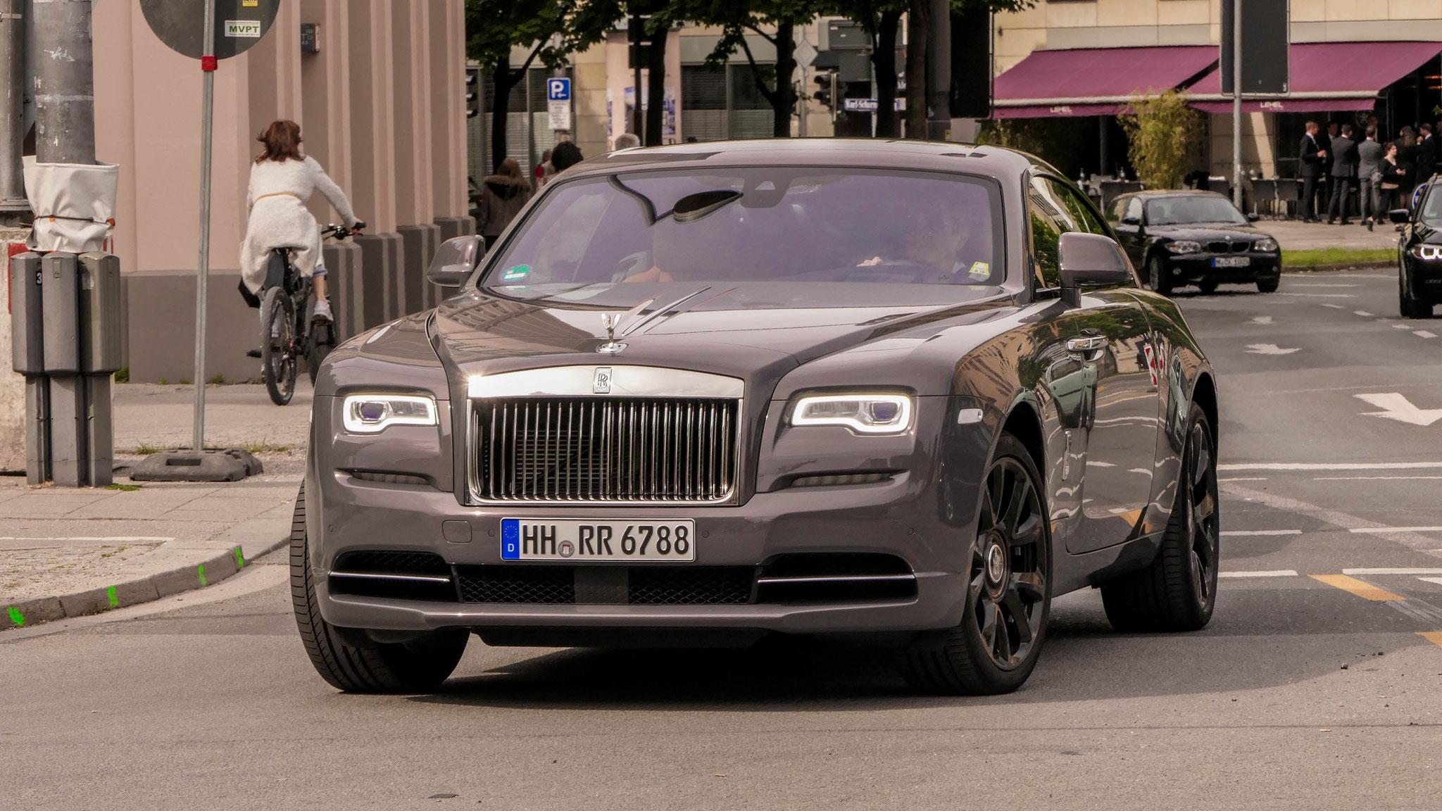 Rolls Royce Wraith - HH-RR-6788