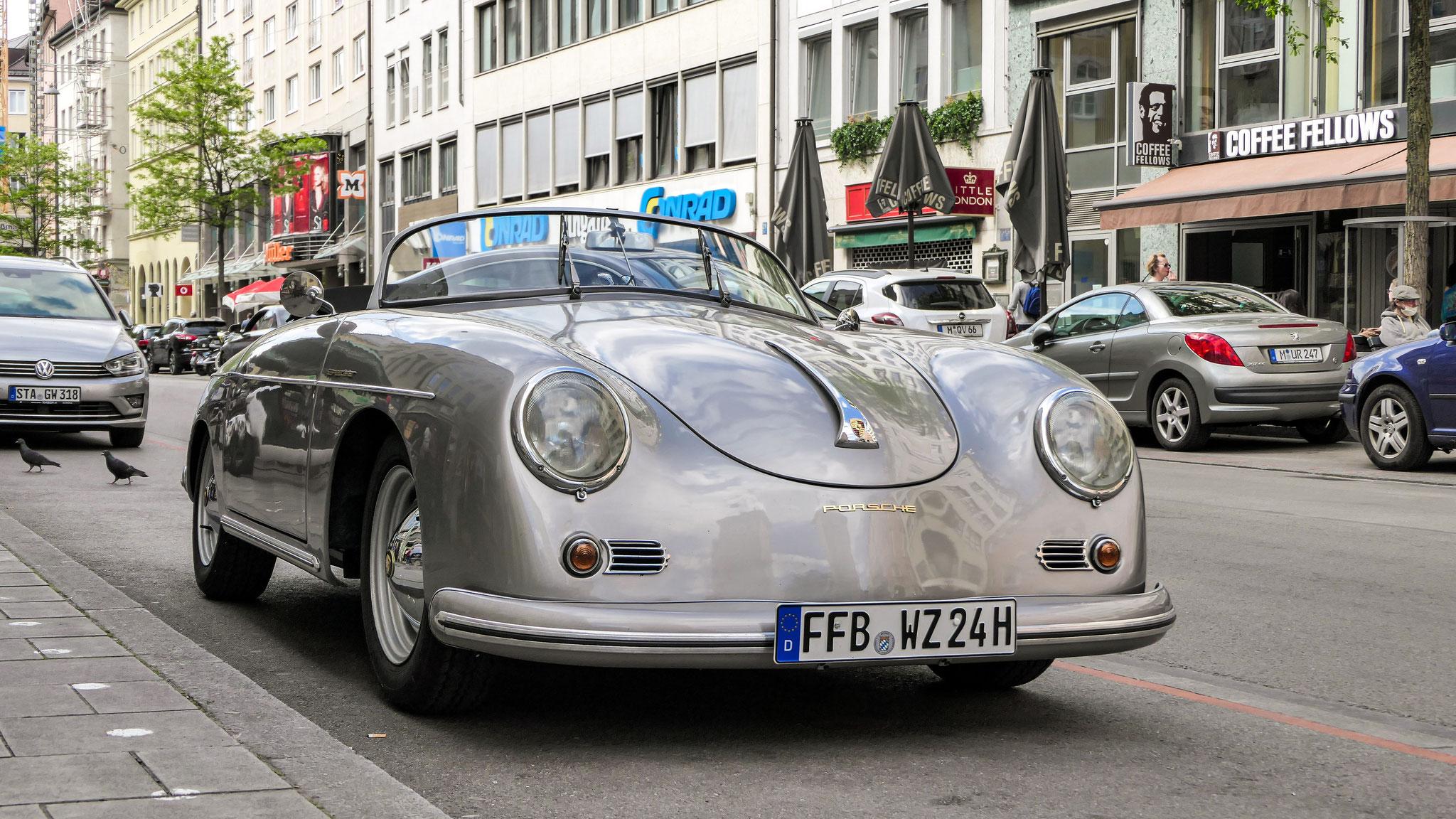 Porsche 356 Speedster - FFB-WZ-24H