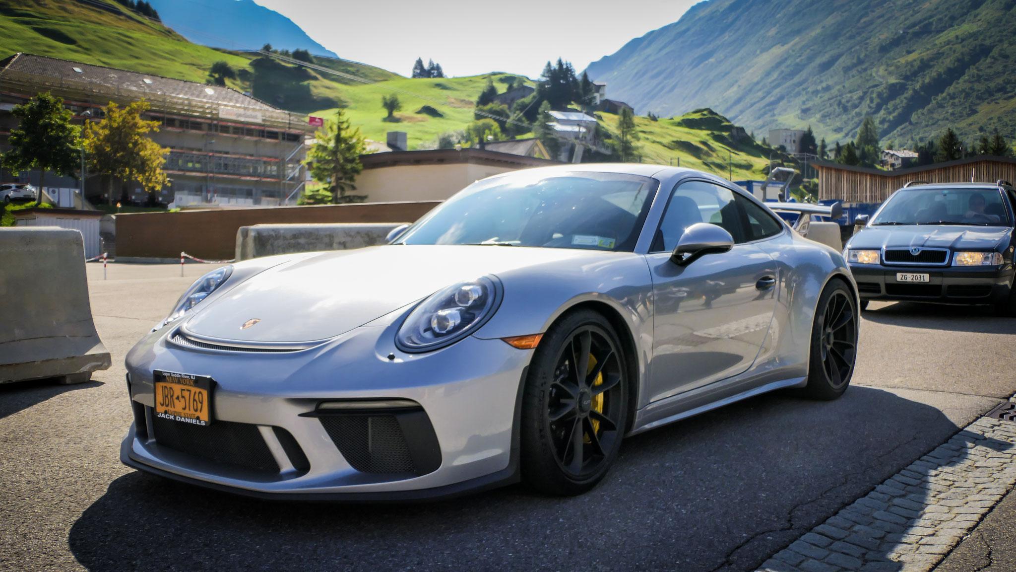 Porsche 991 GT3 - JBR-5769 (USA)