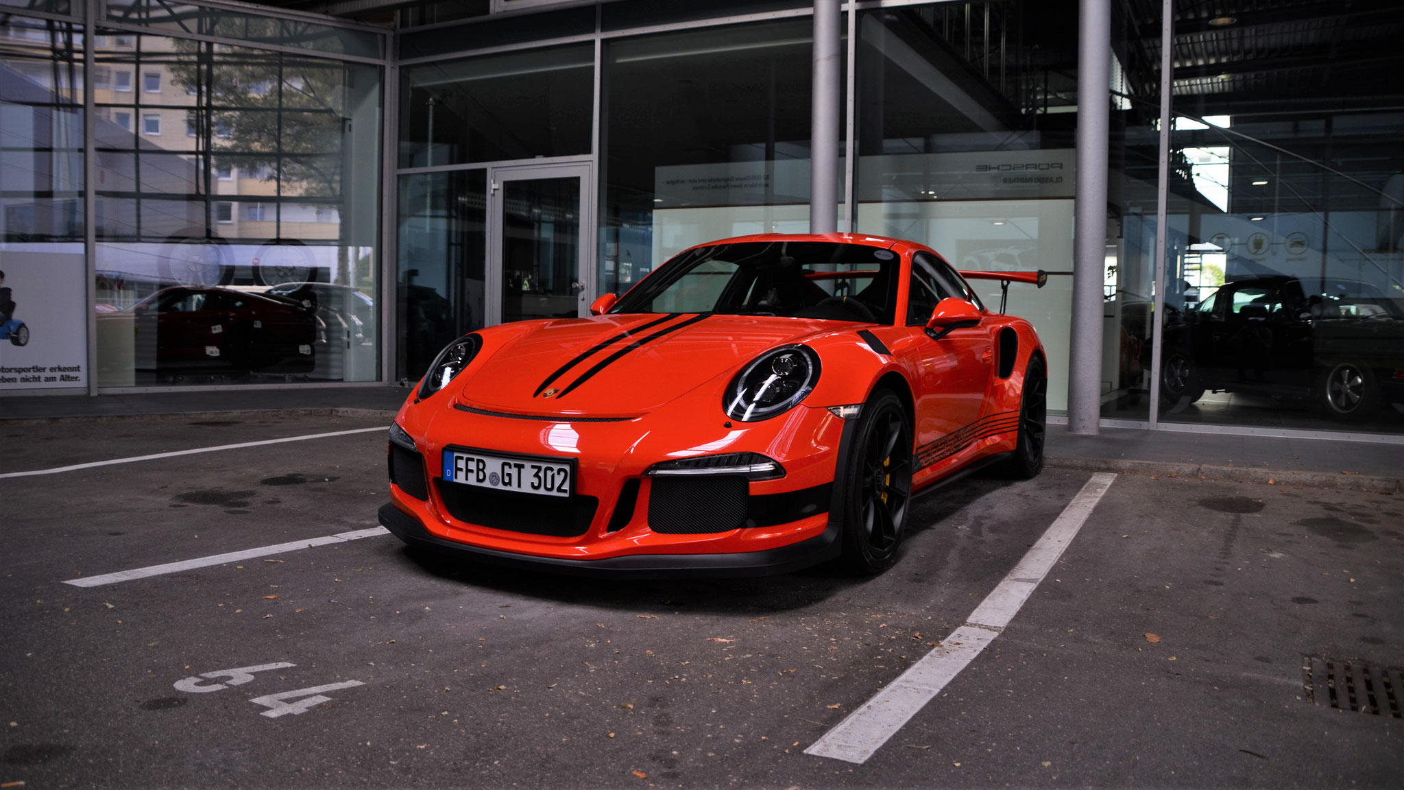 Porsche 911 GT3 RS - FFB-GT-302