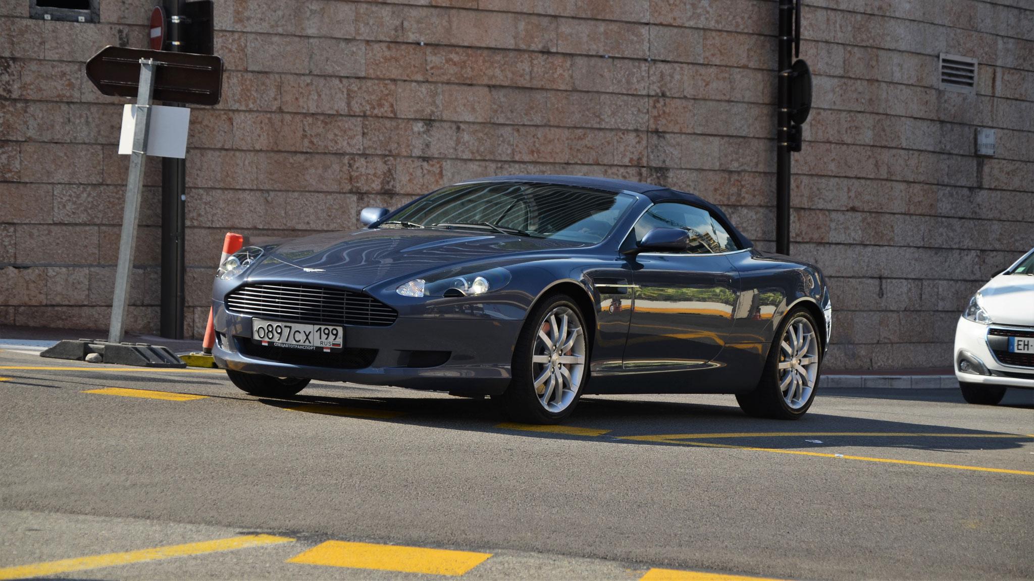 Aston Martin DB9 Volante - O-897-CX-199 (RUS)
