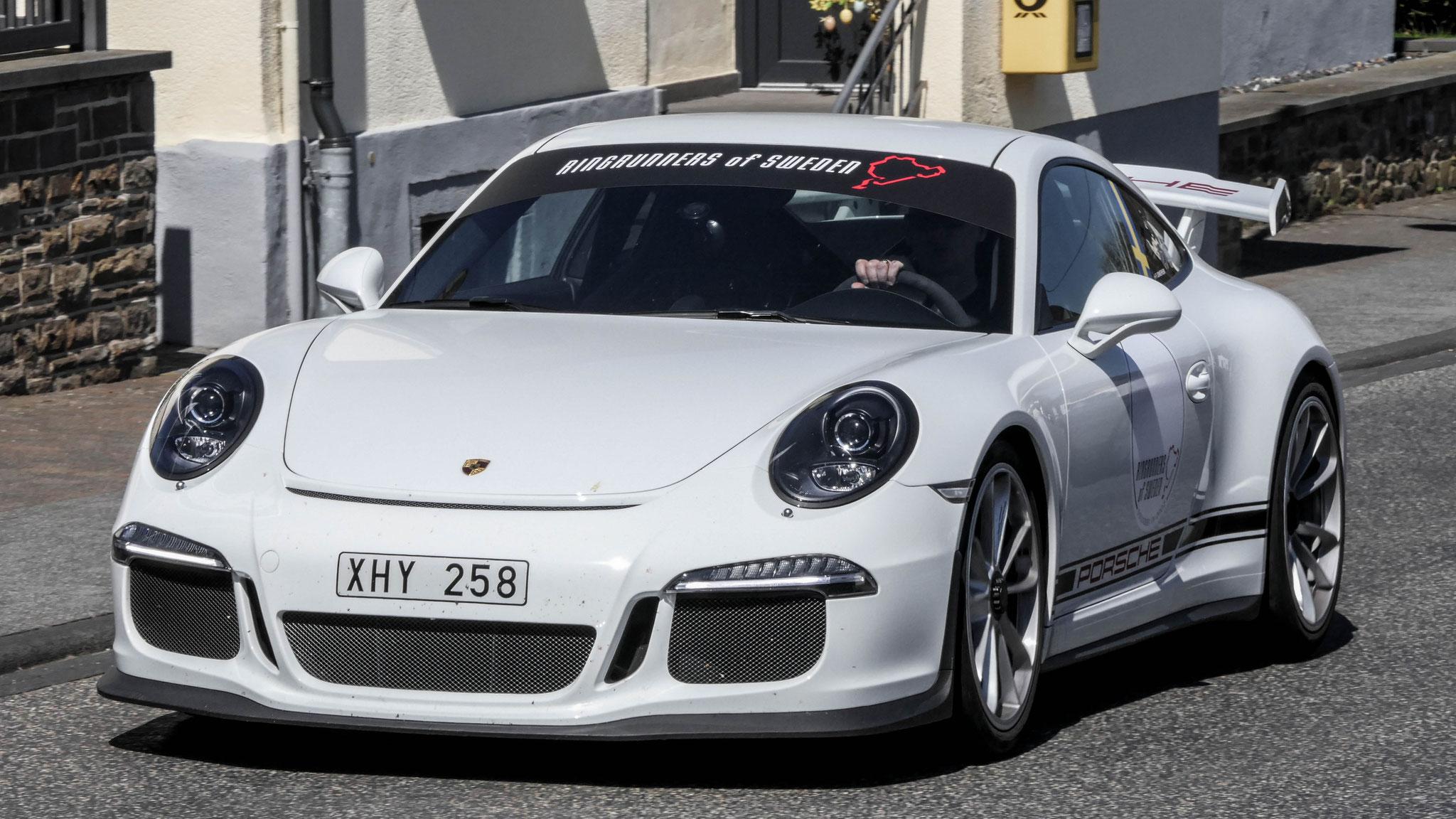 Porsche 991 GT3 - XHY-258 (SWE)