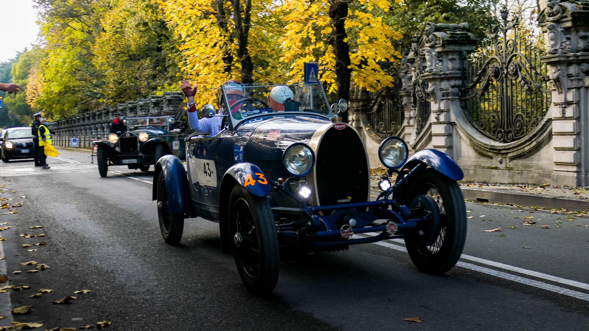 Bugatti Type 40 - ZA-689-NK (ITA)