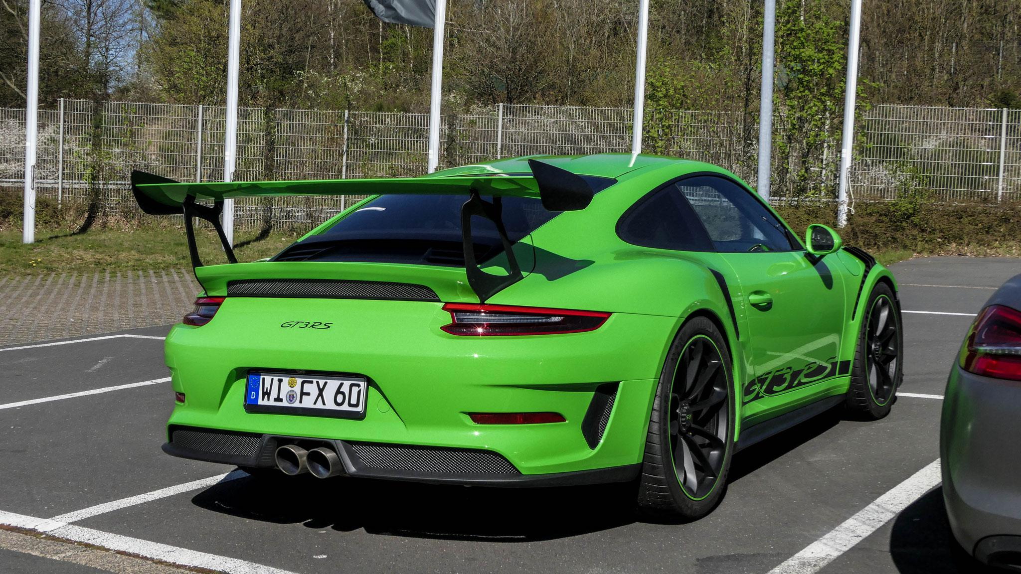 Porsche 911 991.2 GT3 RS - WI-FX-60