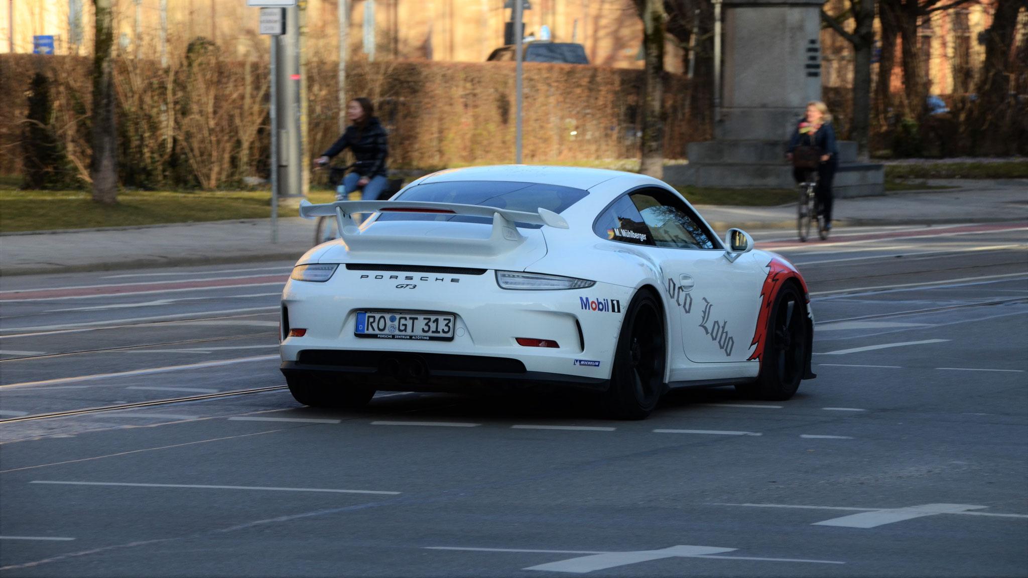 Porsche 991 GT3 - RO-GT-313