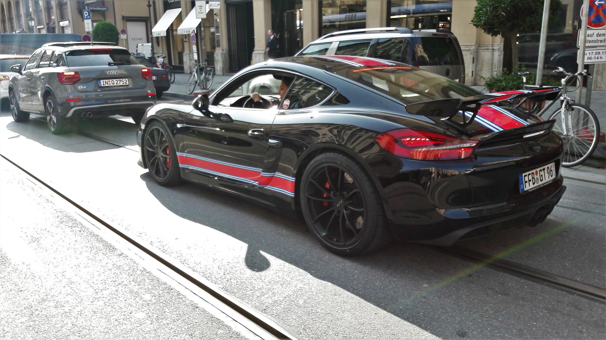 Porsche Cayman GT4 - FFB-GT-96
