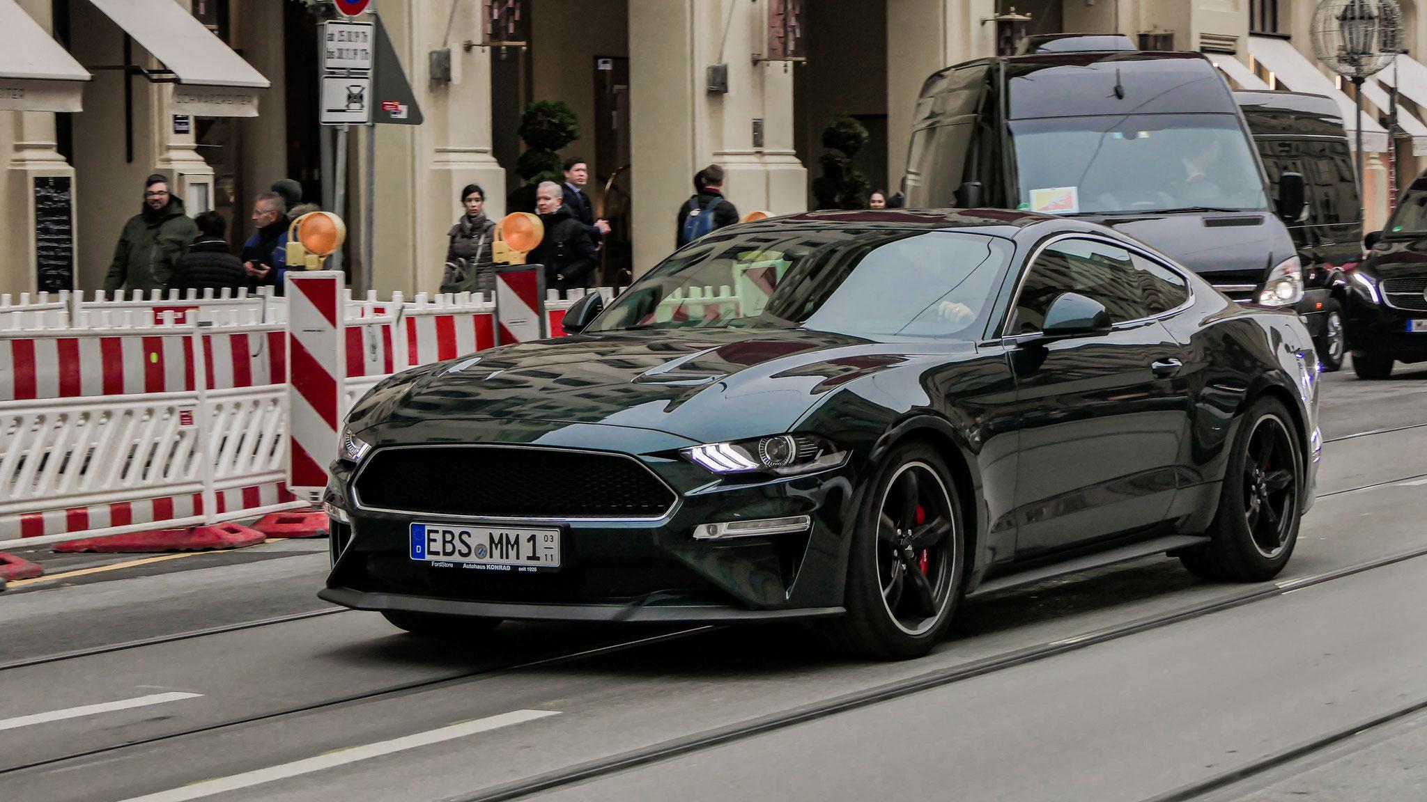 Ford Mustang Bullitt - EBS-MM-1