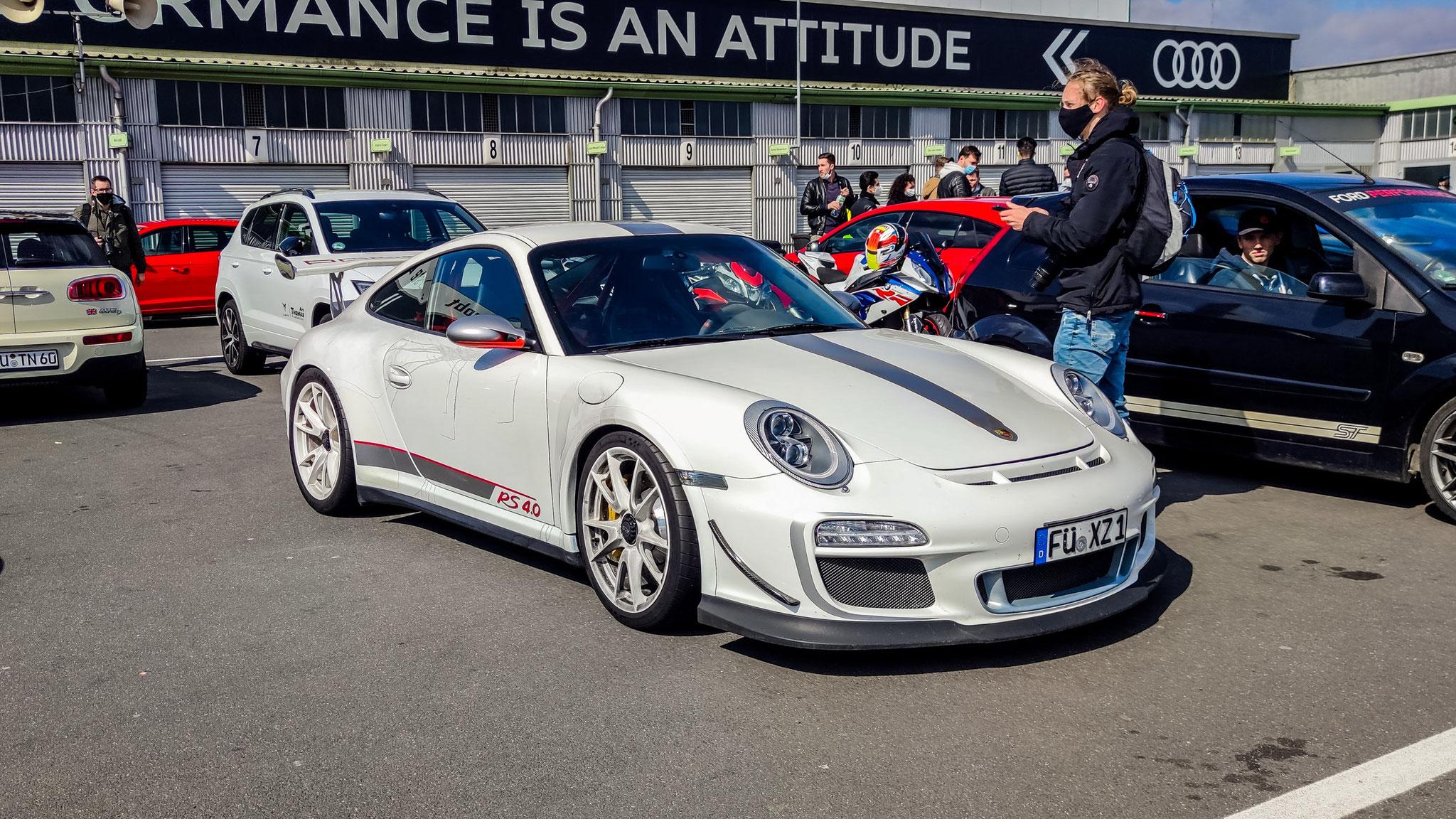 Porsche 911 GT3 RS 4.0 - FÜ-XZ-1