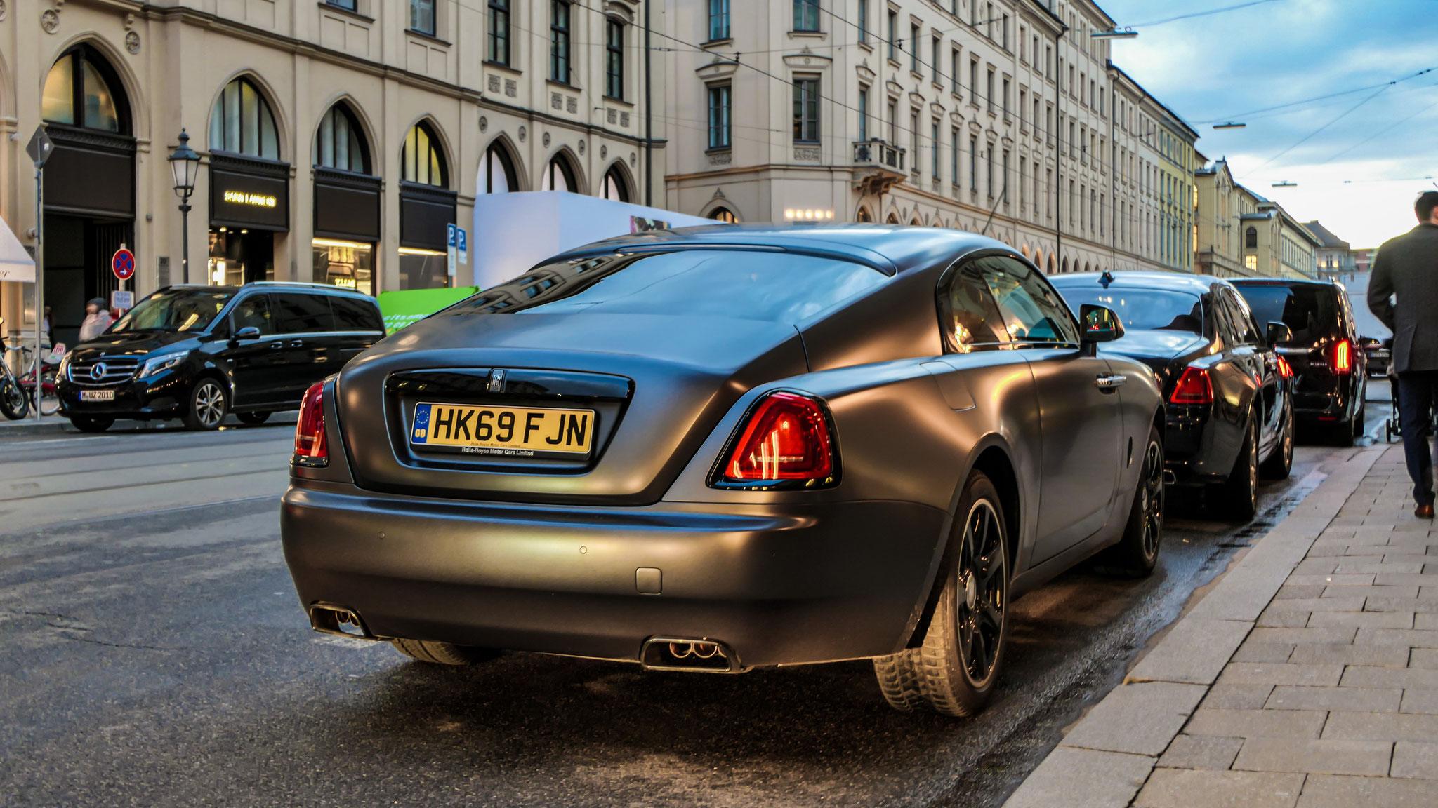 Rolls Royce Wraith - HK69-FJN (GB)