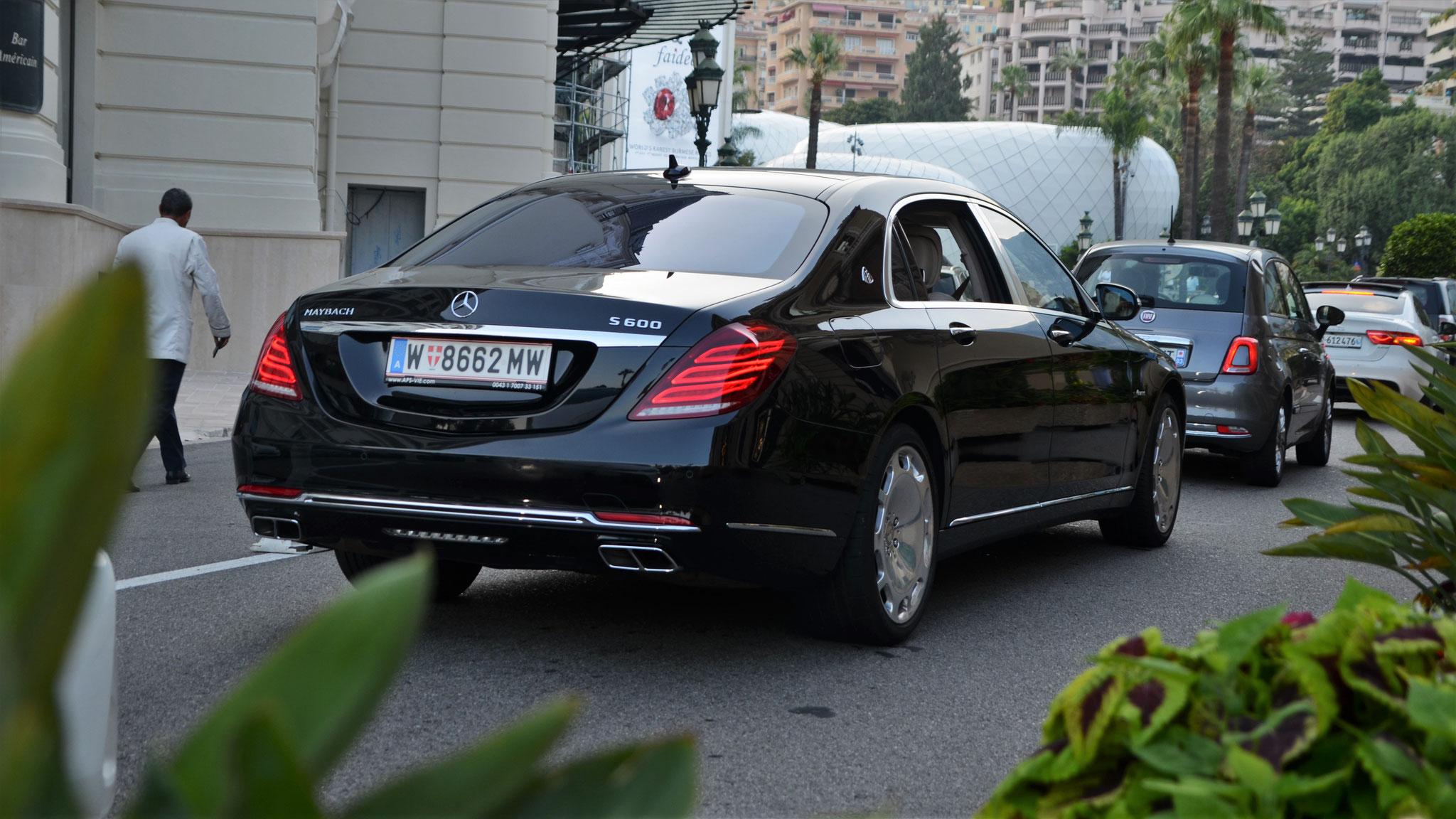 Mercedes Maybach S600 - W-8662-MW (AUT)