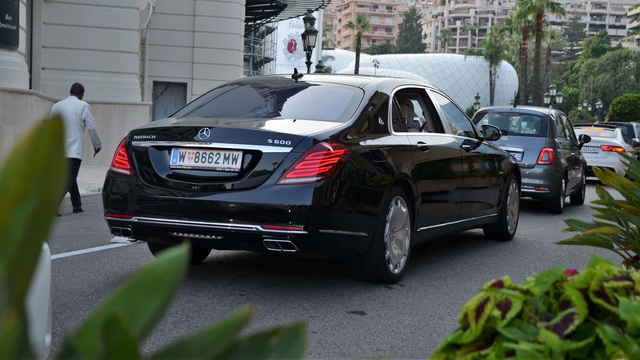 Mercedes Maybach S600 - W-8662-MW (AUT)