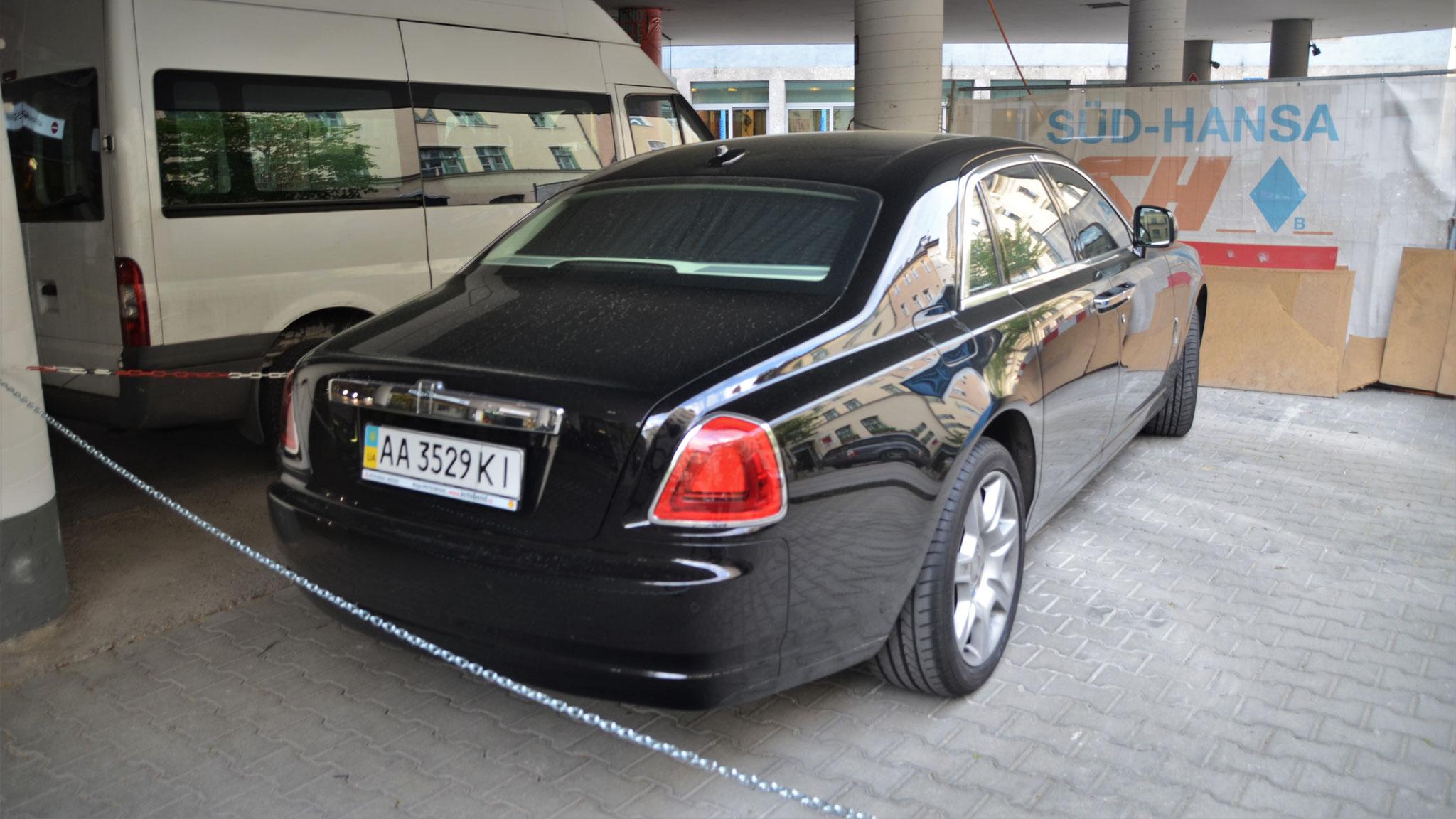 Rolls Royce Ghost - AA-3529-KI (UA)