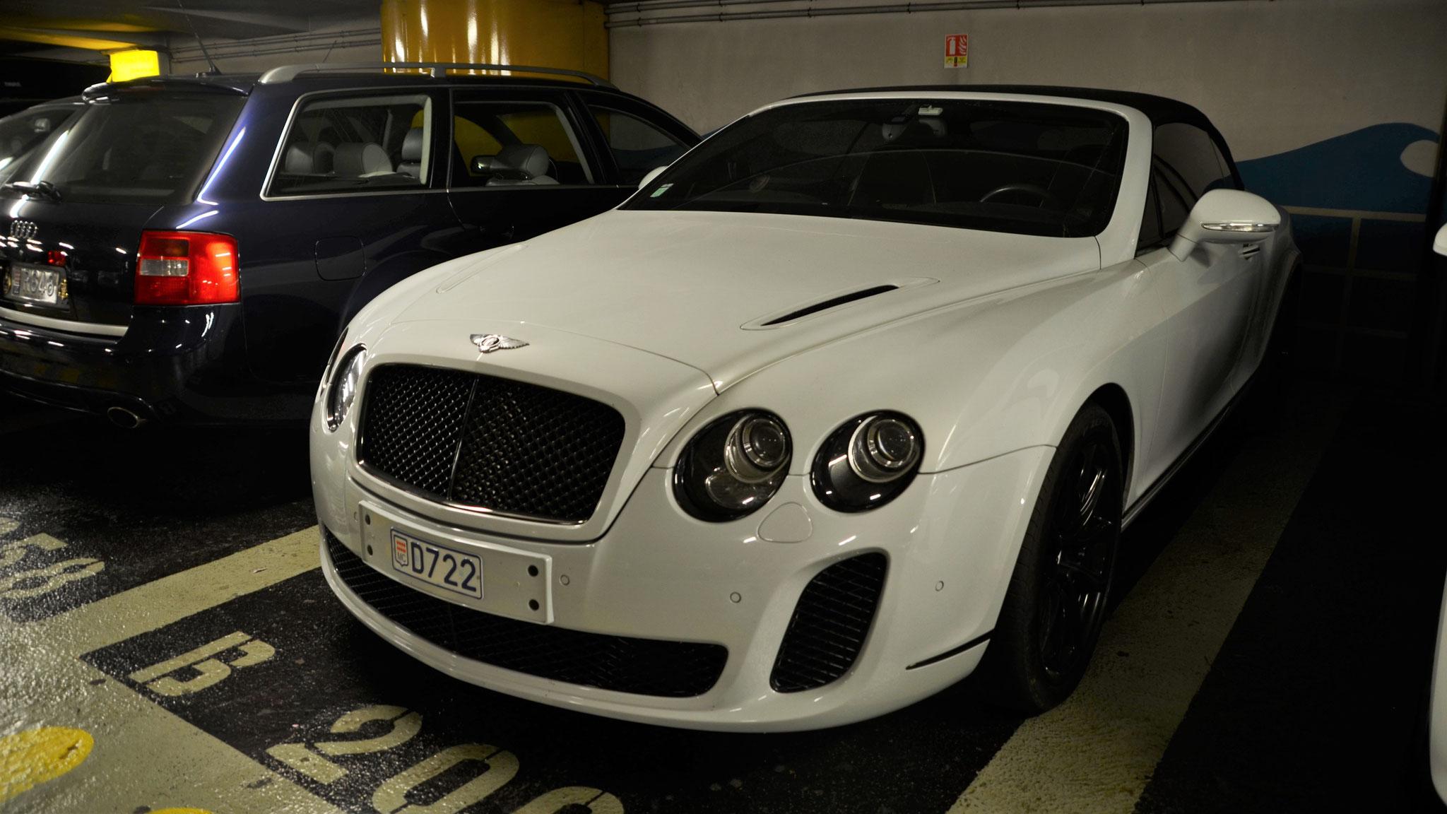 Bentley Continental GTC Supersports - D722 (MC)