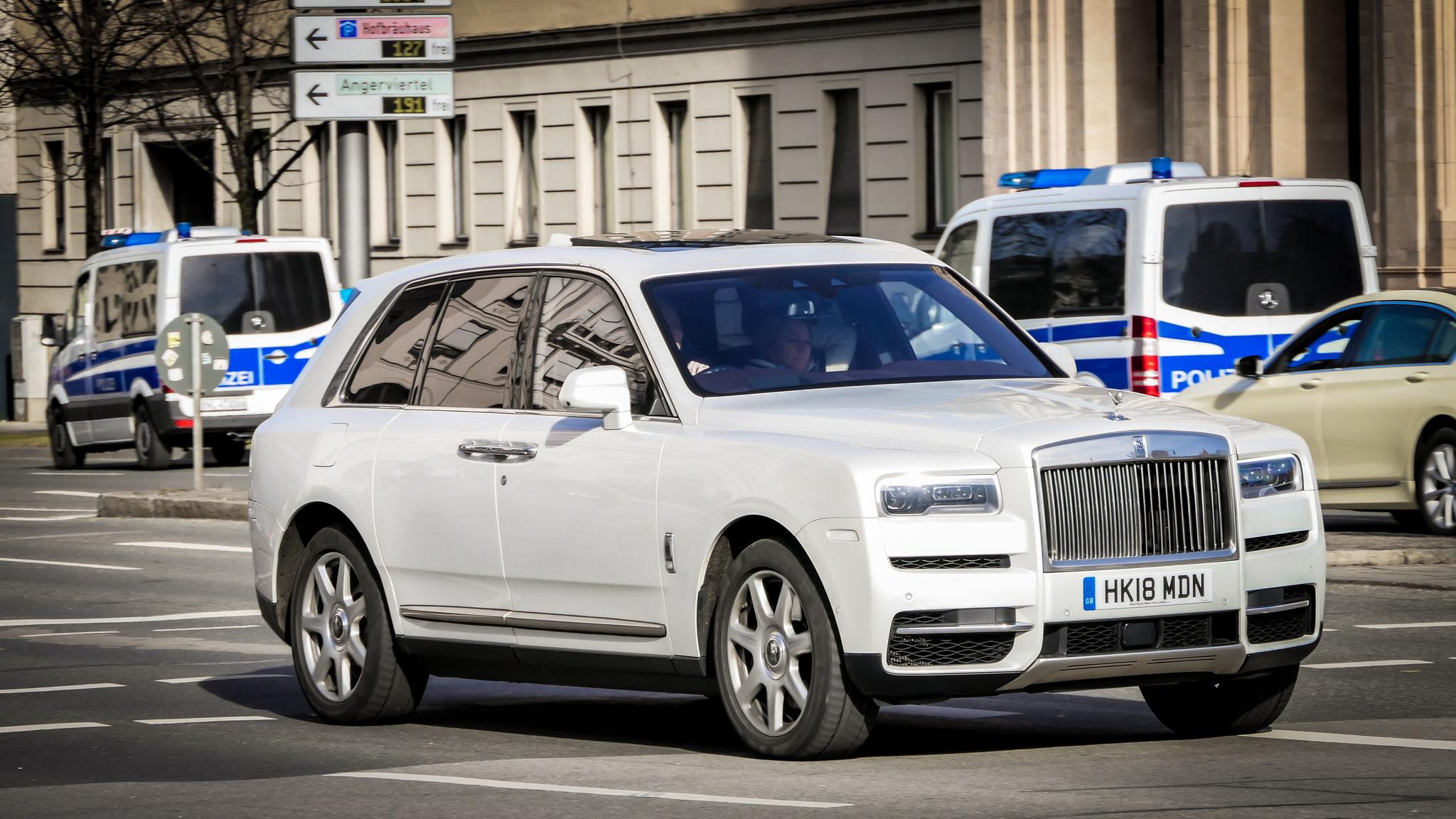 Rolls Royce Cullinan - HK18-MDN (GB)
