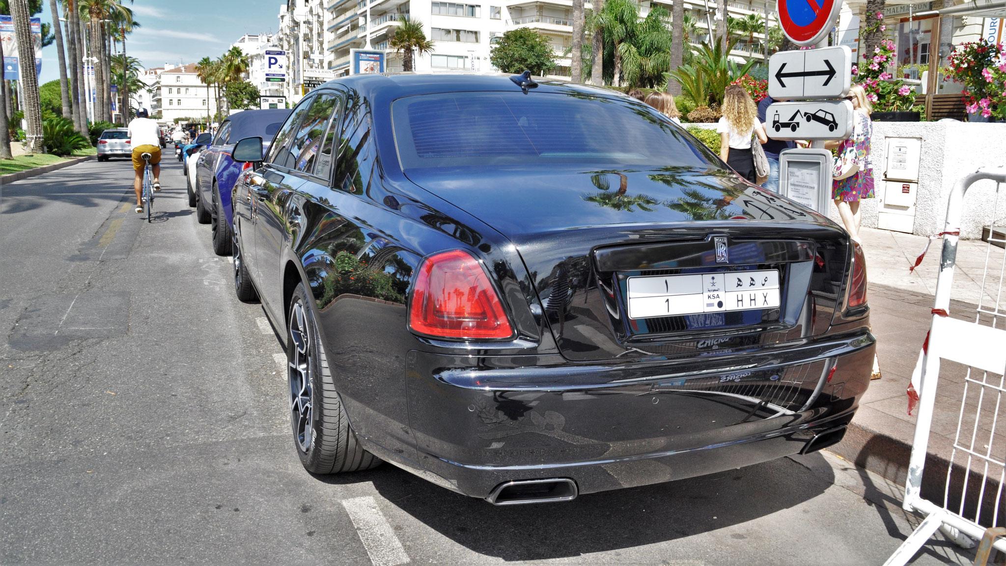 Rolls Royce Ghost Series II - 1-HHX (KSA)