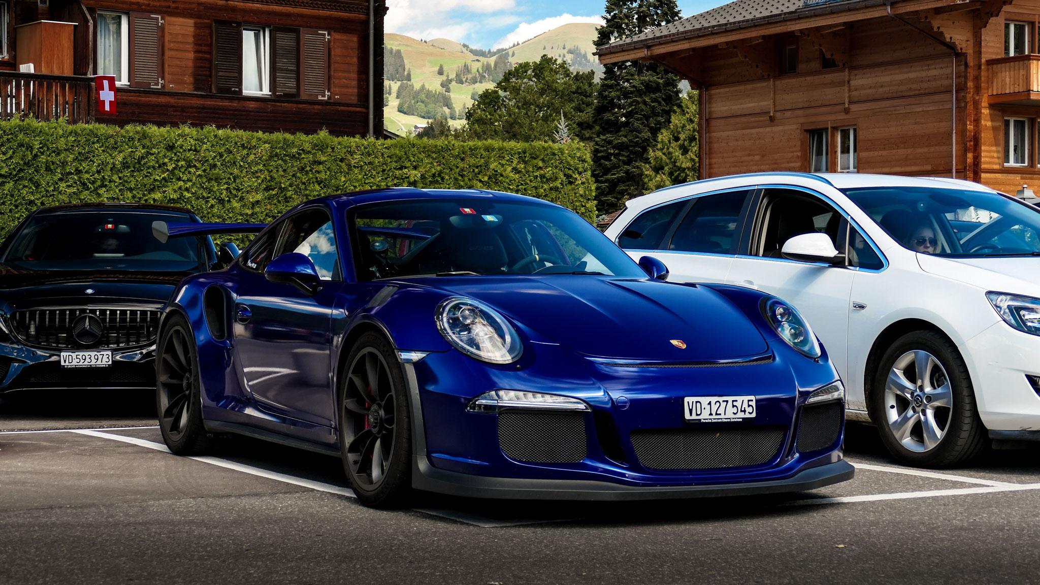 Porsche 911 GT3 RS - VD-127545 (CH)