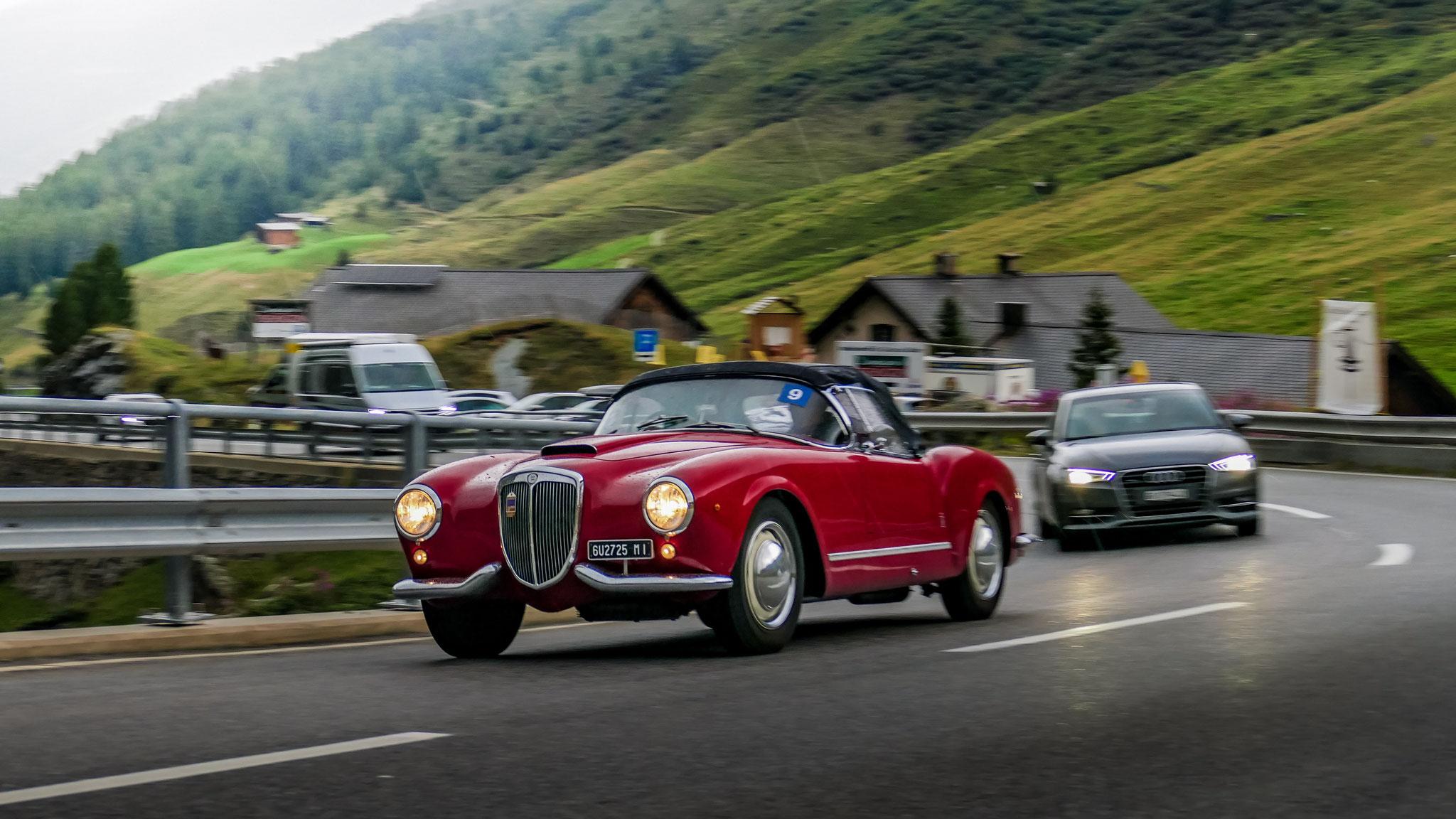 Lancia Aurelia B24 Spider - 6U-2725-MI (ITA)
