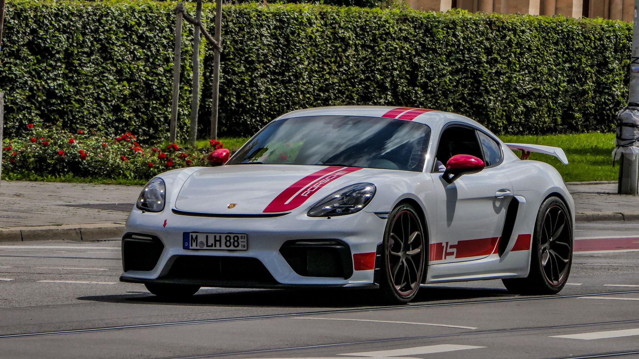 Porsche Cayman GT4 Sports Cup Edition - M-LH-88
