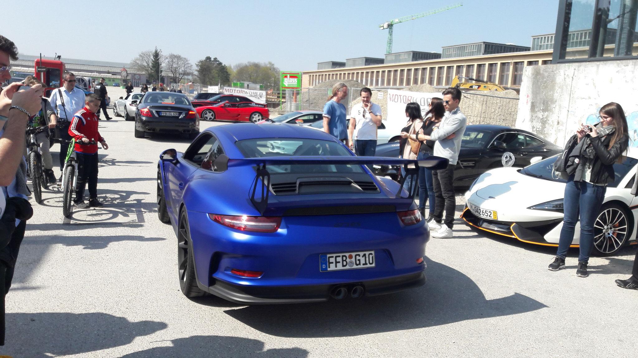Porsche 911 GT3 RS - FFB-G-10