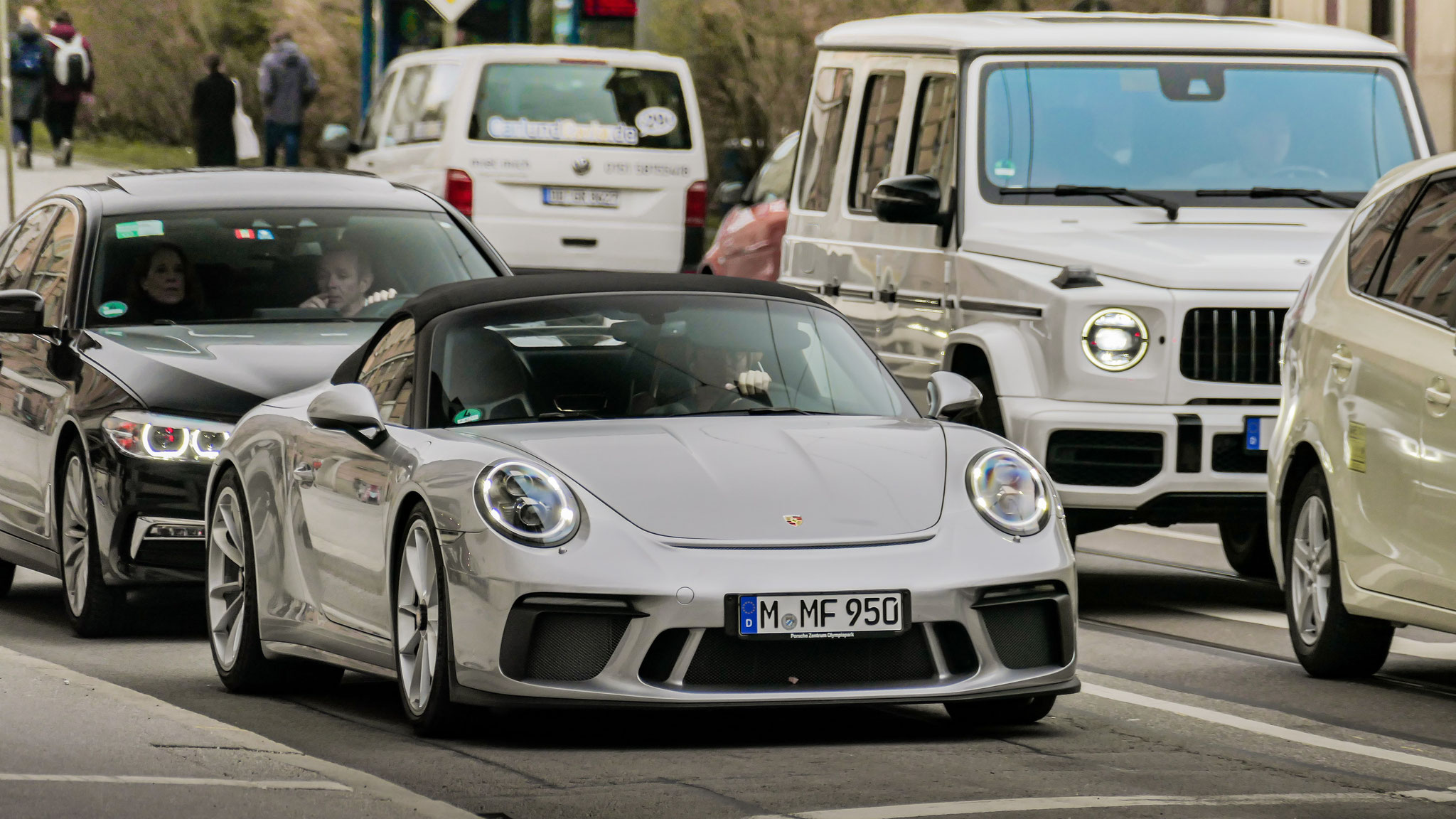 Porsche 991 Speedster - M-MF-950