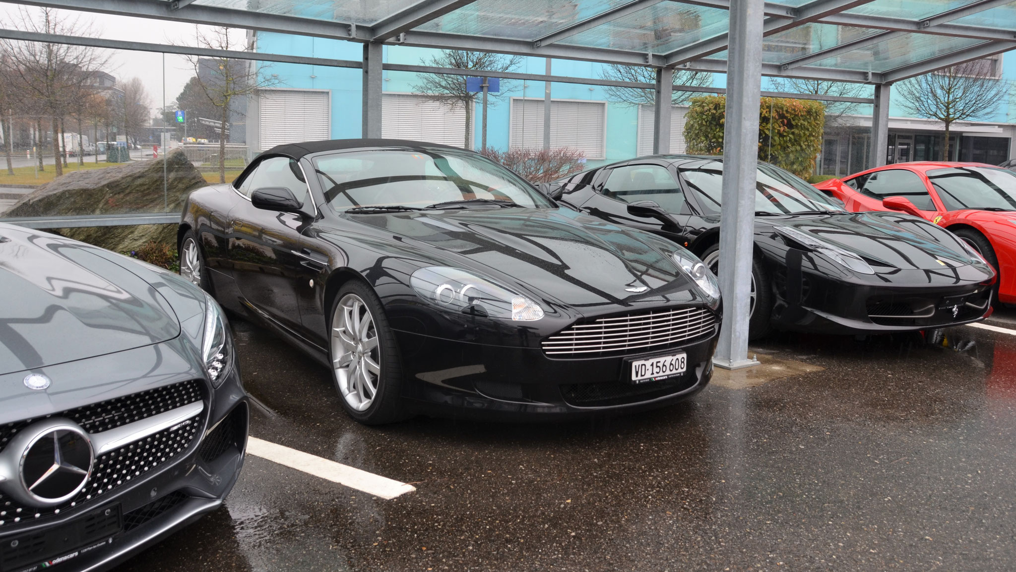 Aston Martin DB9 Volante - VD-156608 (CH)