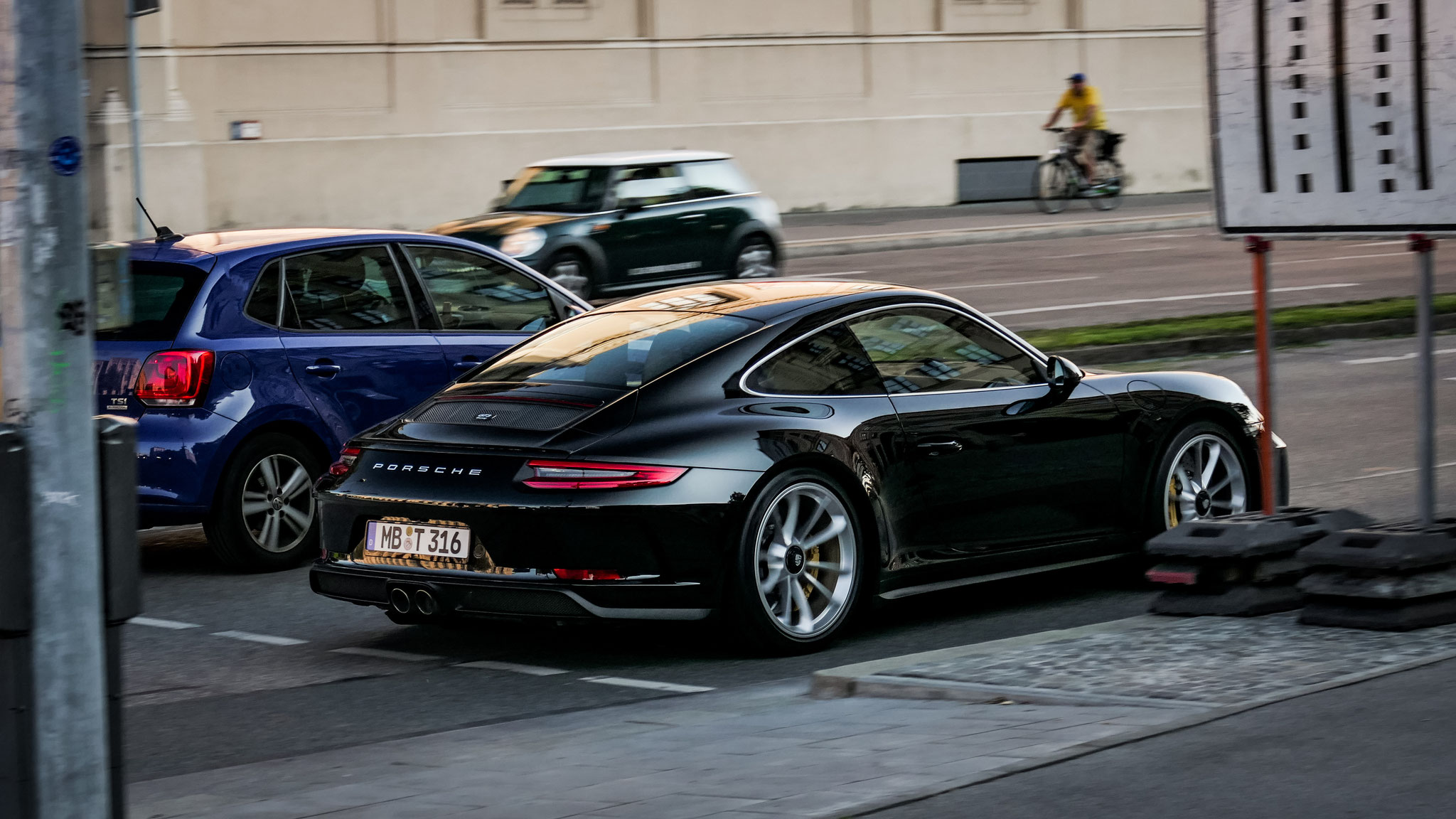 Porsche 991 GT3 Touring Package - MB-T-316