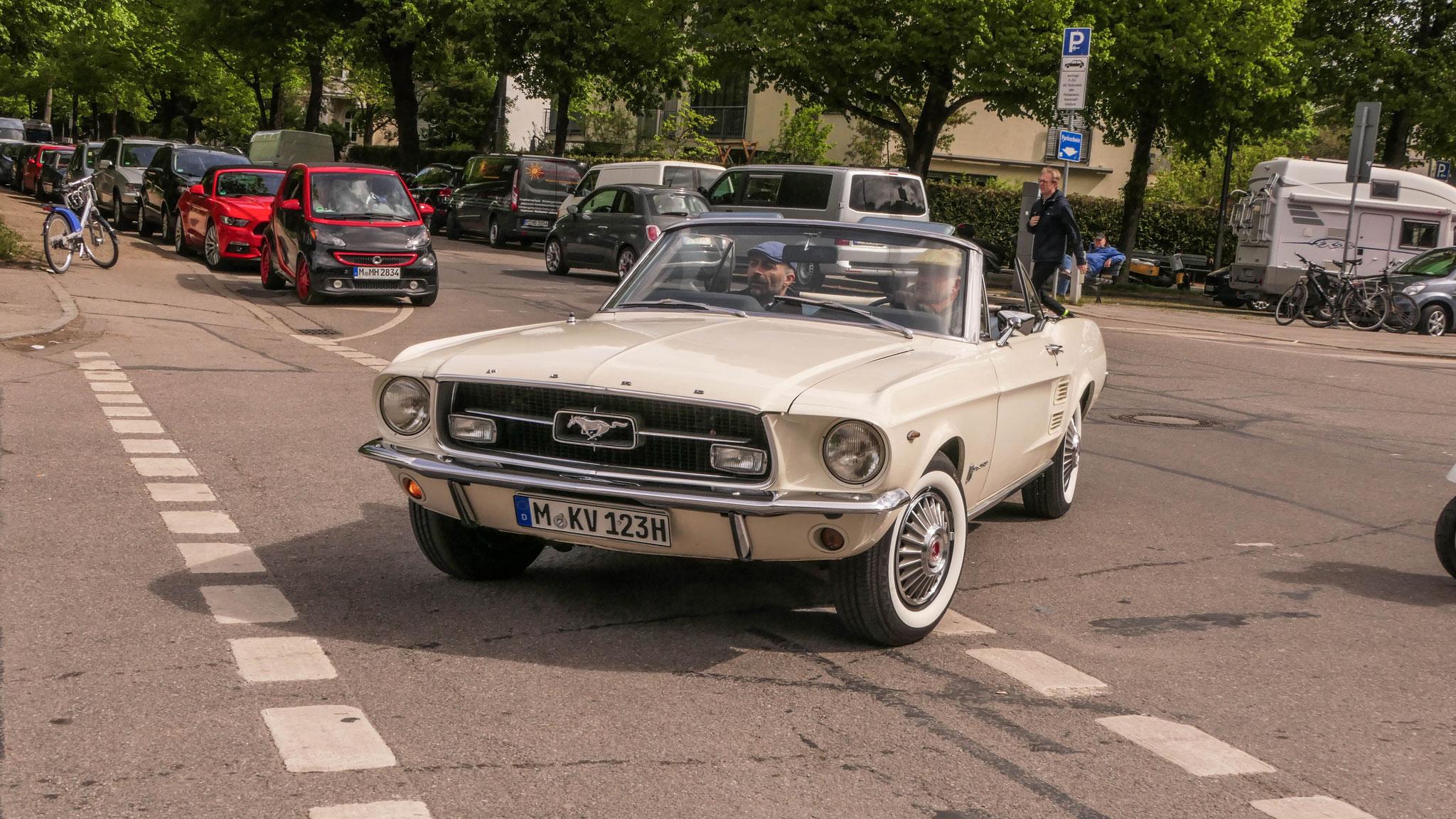Mustang I Cabriolet - M-KV-123H