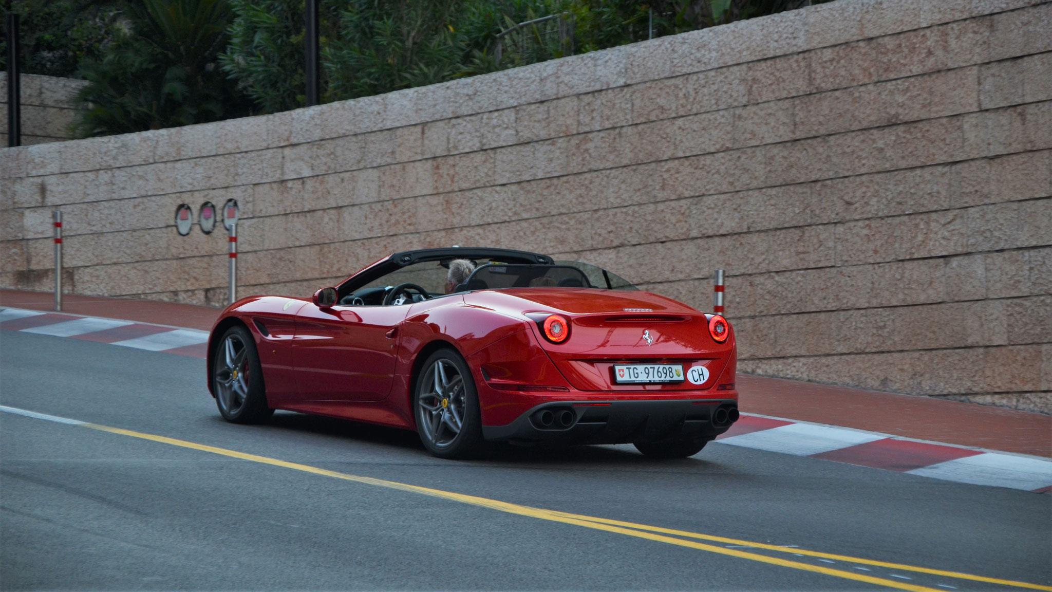 Ferrari California T - TG-97698 (CH)
