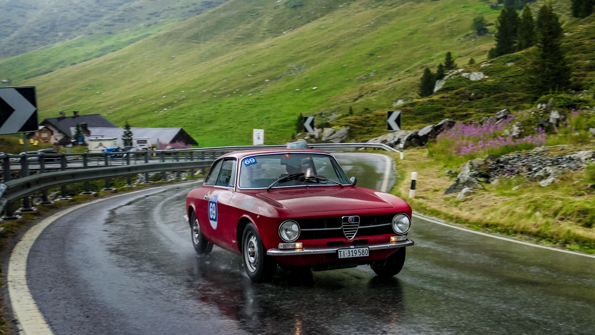 Alfa Romeo Giulia Sprint GT - TI-319580 (CH)