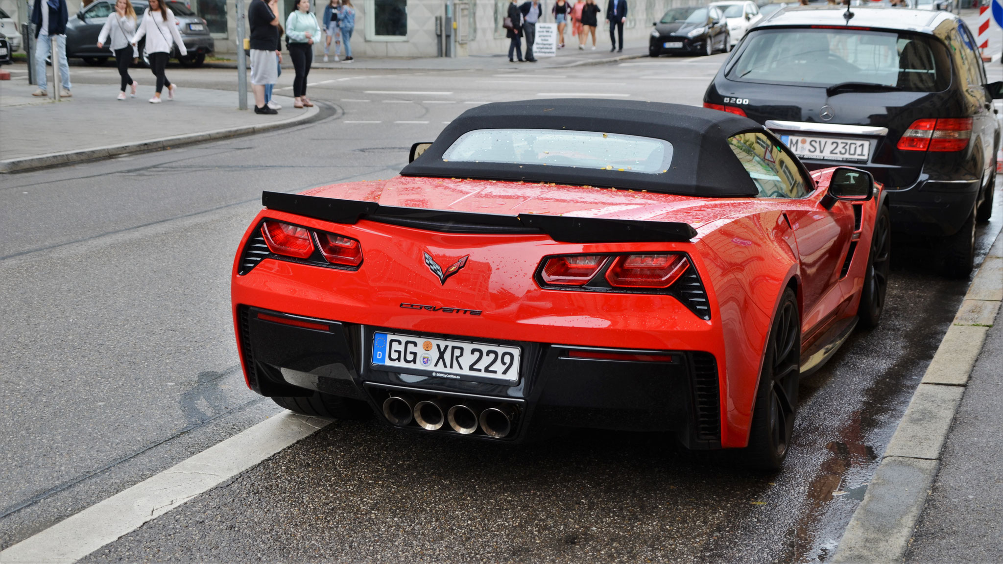 Chevrolet Corvette C7 Grand Sport Convertible - GG-XR-229